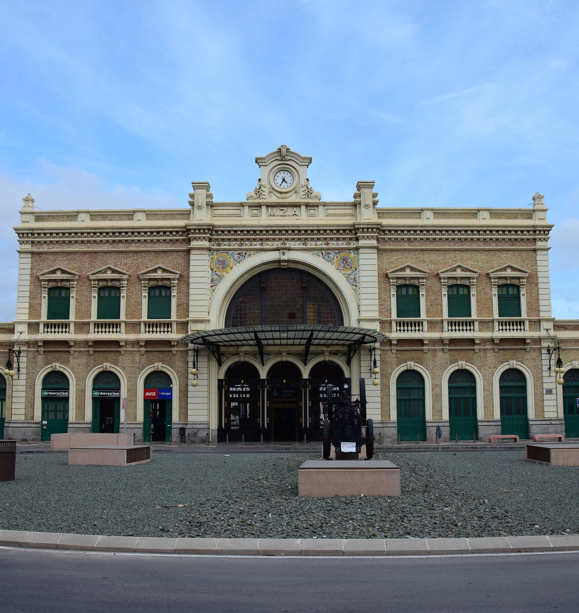 Estación de Cartagena - Der Bahnhof Cartagenas