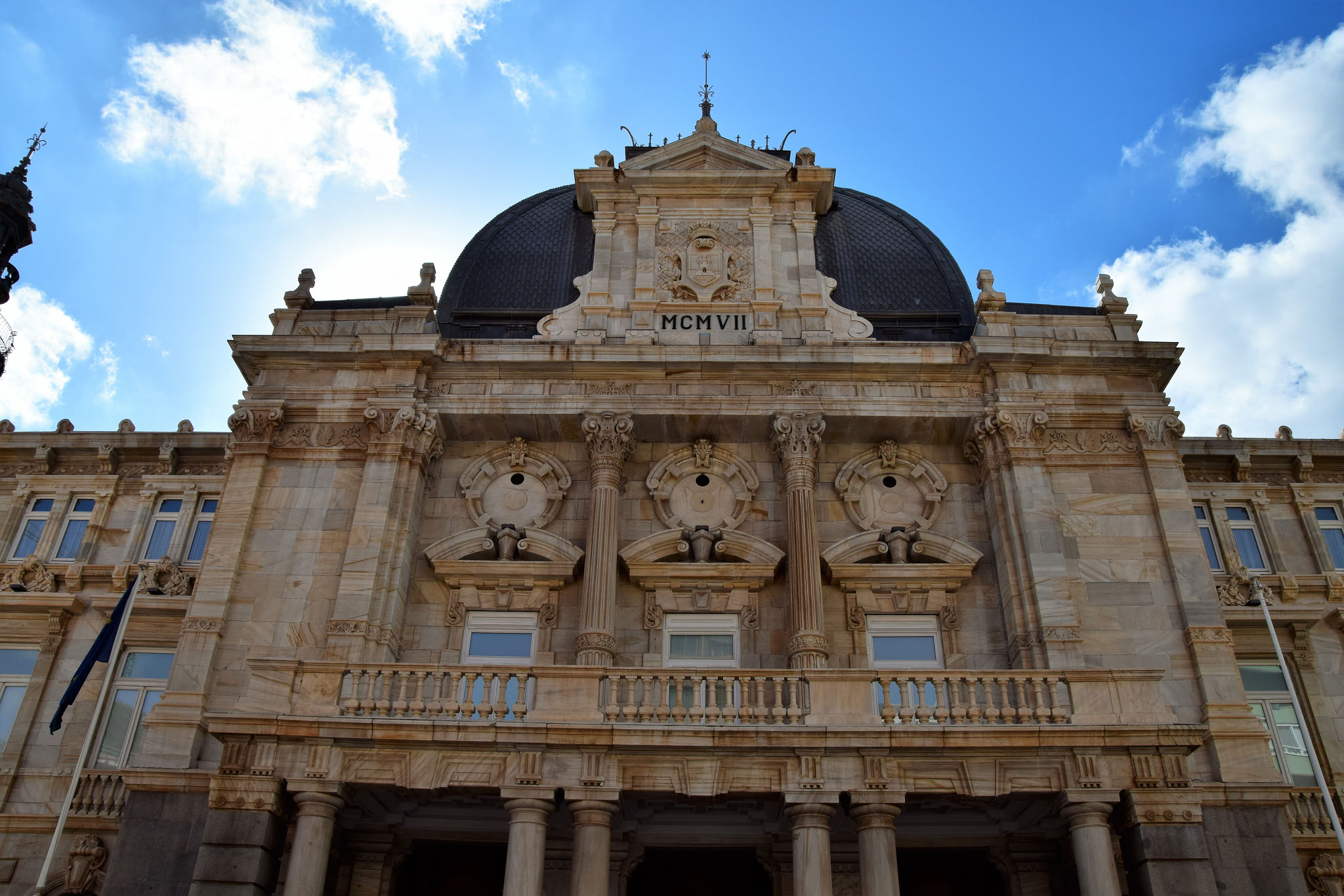 """Rathaus """"Palacio Consistorial"""""""
