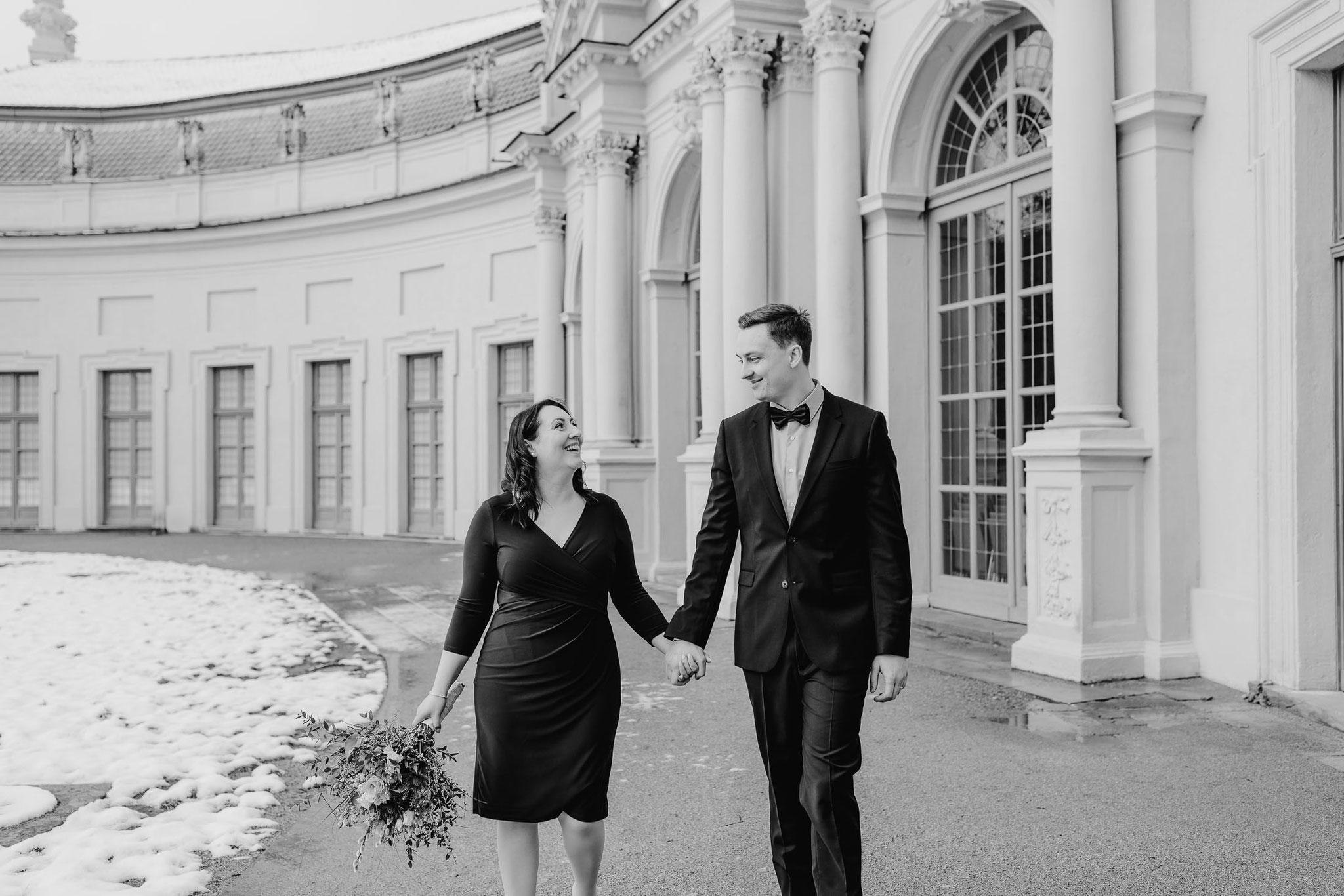 Hochzeit in Erlangen Orangerie Schlosspark