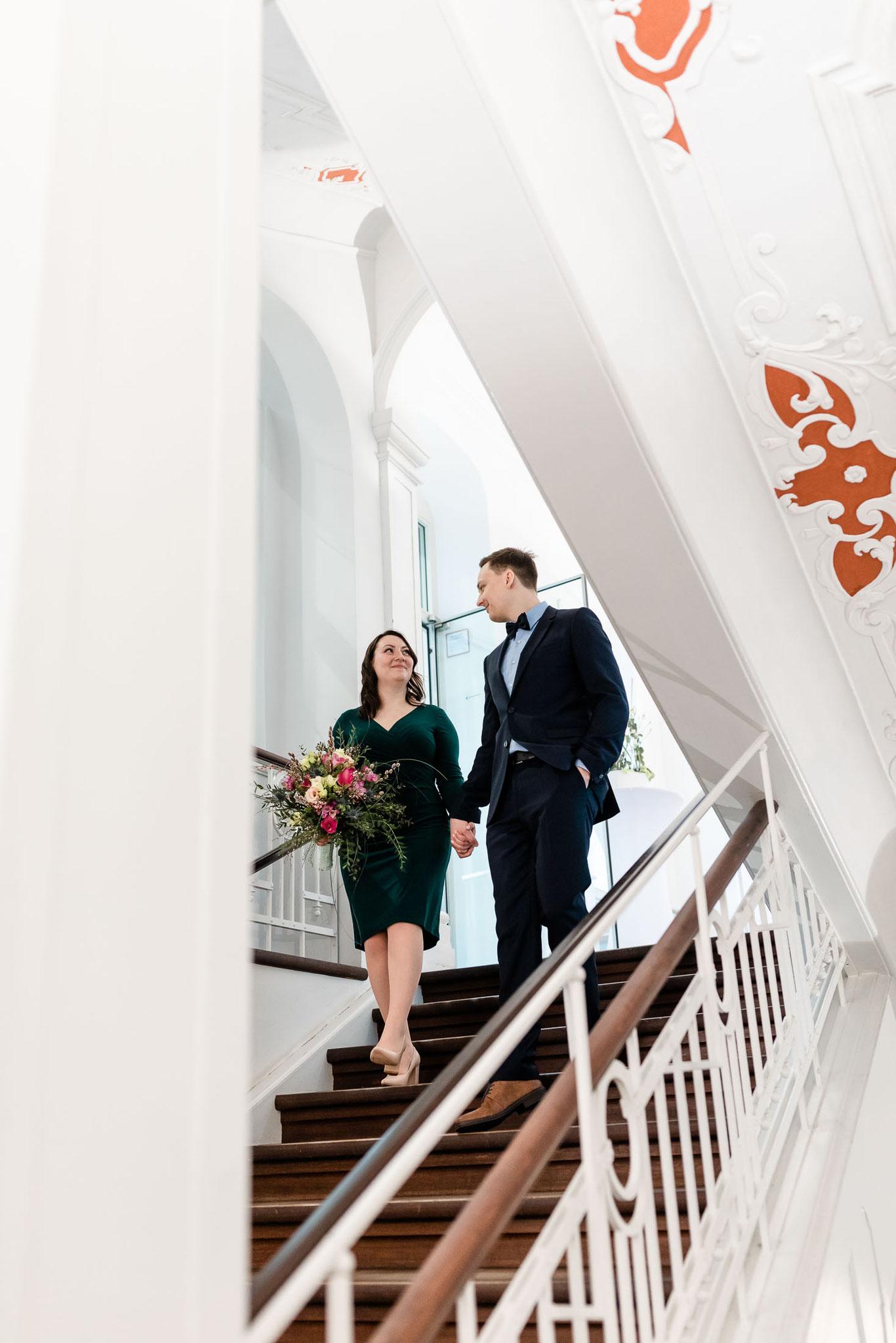 Hochzeit in Erlangen Bürgerpalais Stutterheim