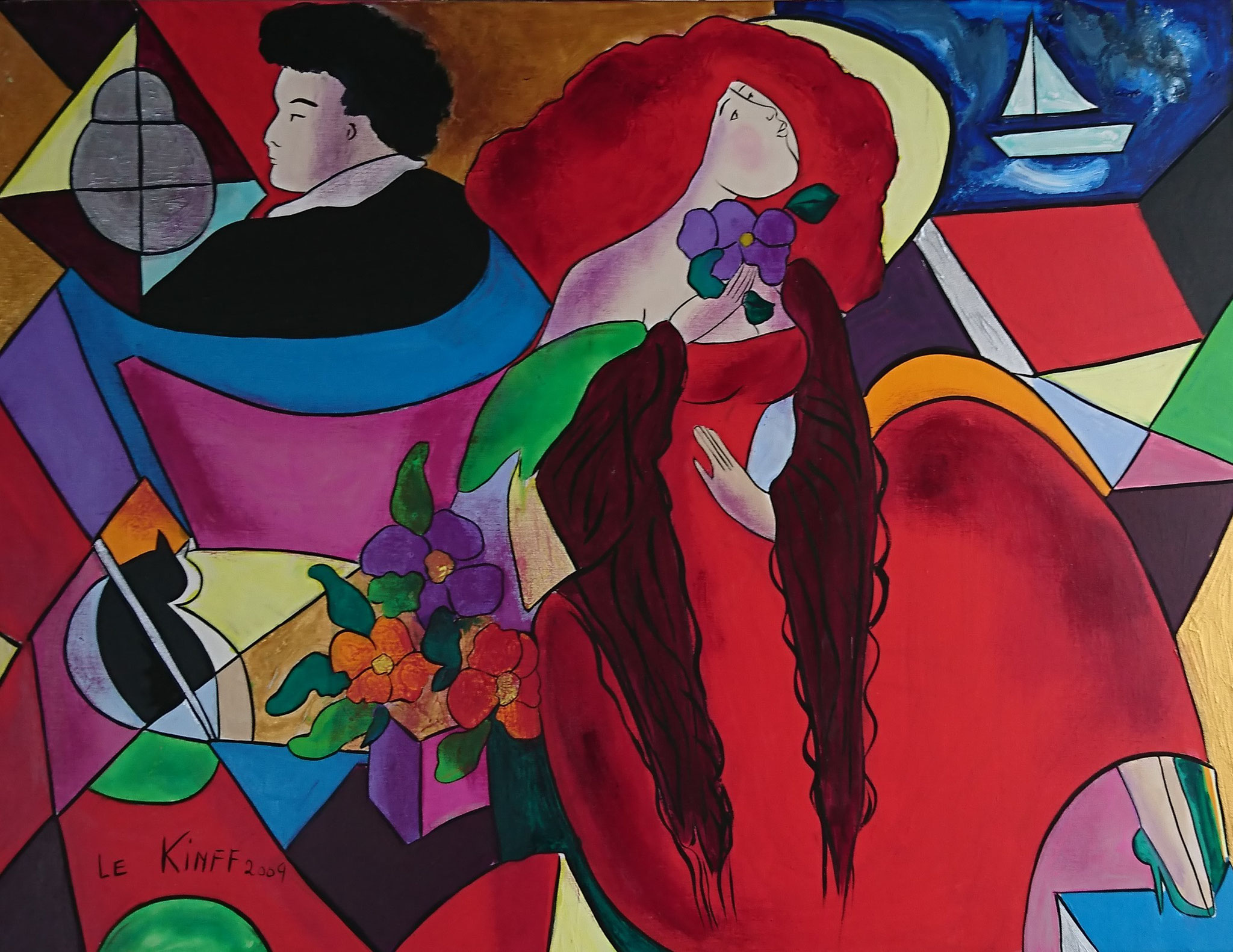 Mylene. 50F. canvas. 2009