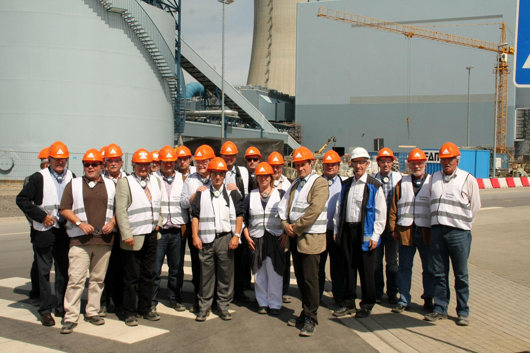Besuch Baustelle RWE BoA-Kraftwerk Neurath 2011