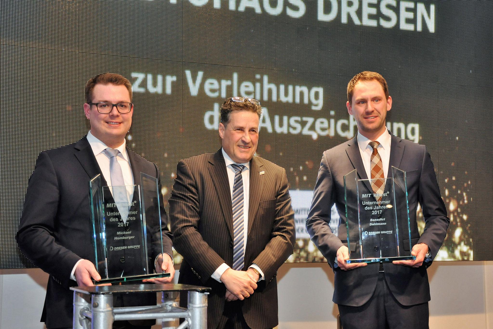 Unternehmer des Jahres 2017  - Autohaus Dresen