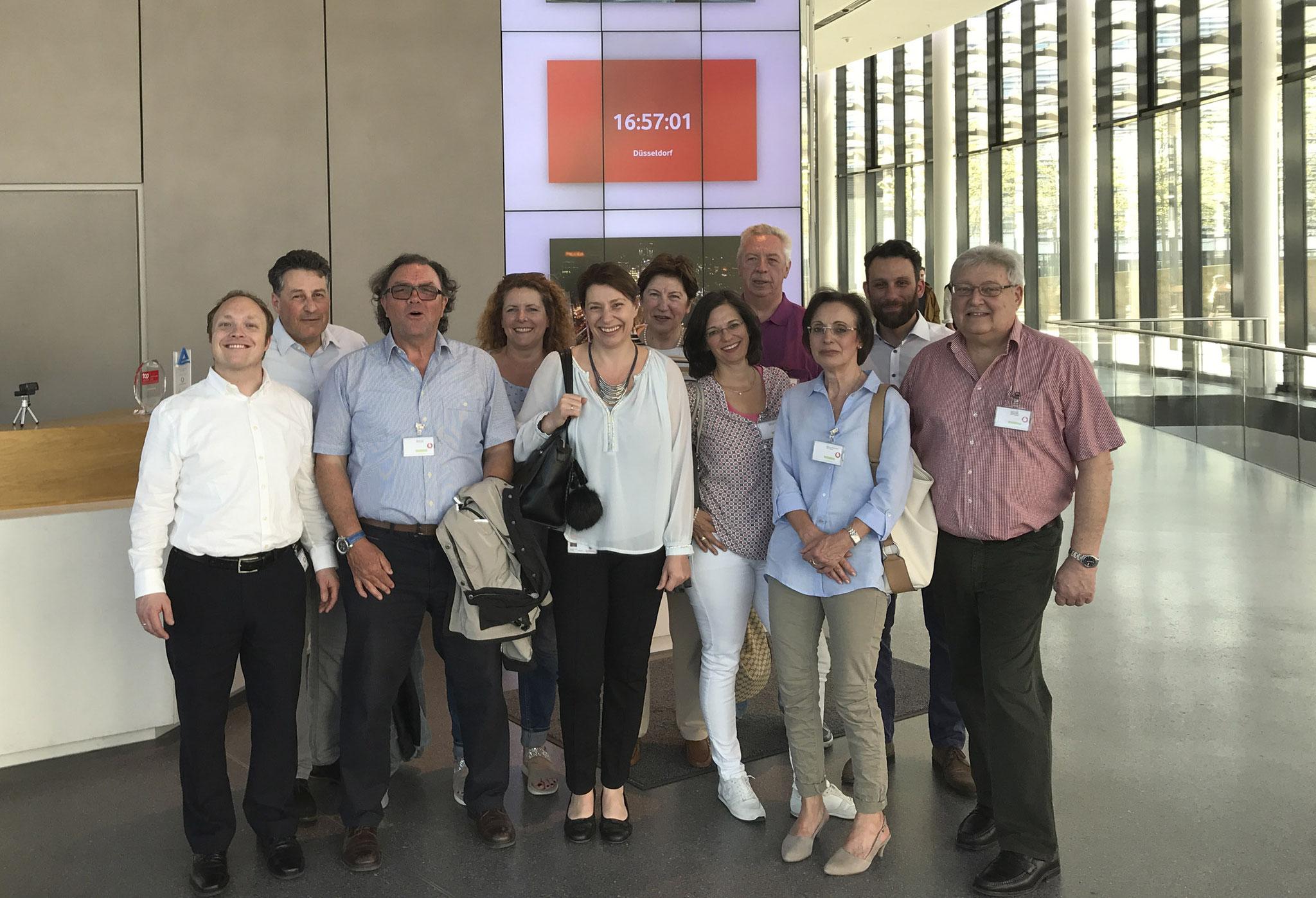 Besuch Vodafone-Campus 2018