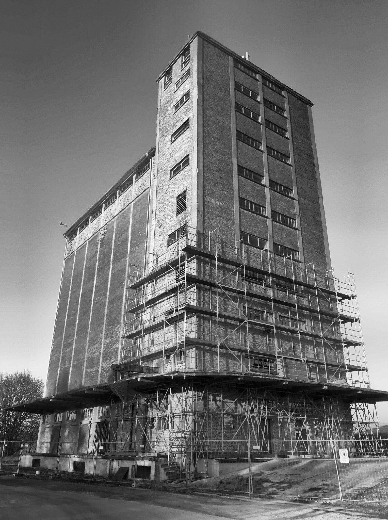 2. Bauabschnitt 2018, Turmsanierung