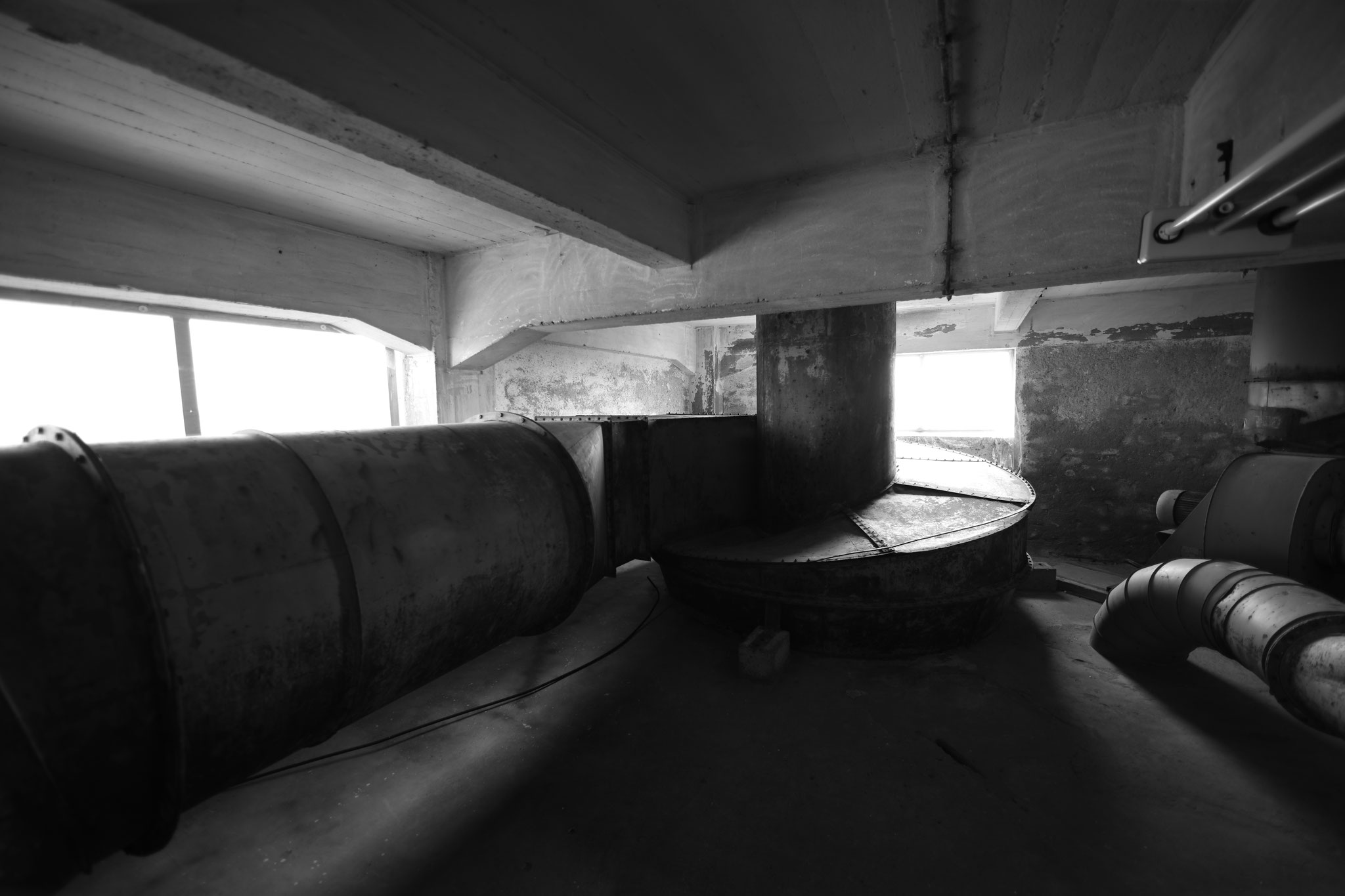 9. Etage Reinigungsstufe