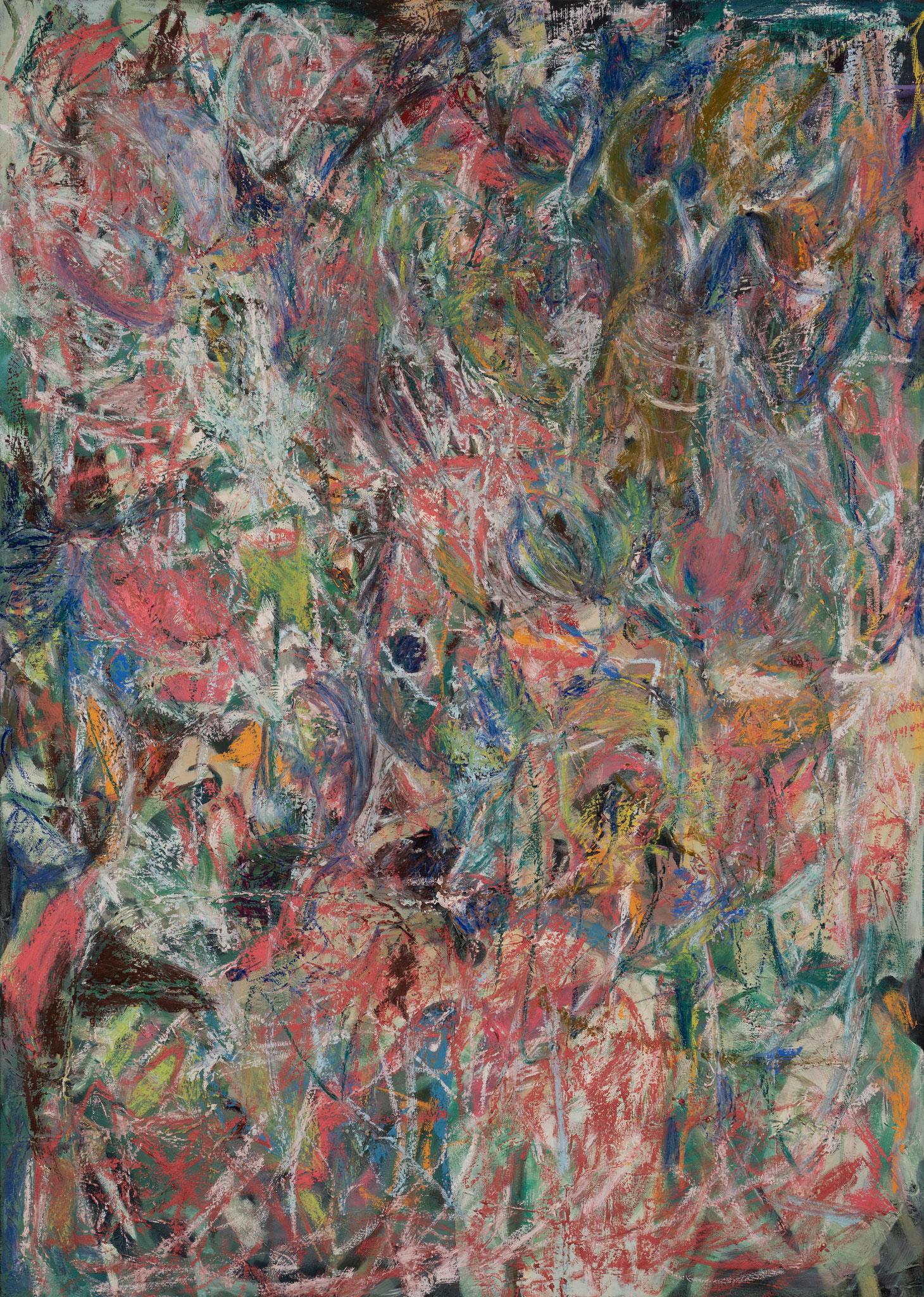 """Emotion"" 140 x 100 cm - Mischtechnik Öl/Ölkreide"