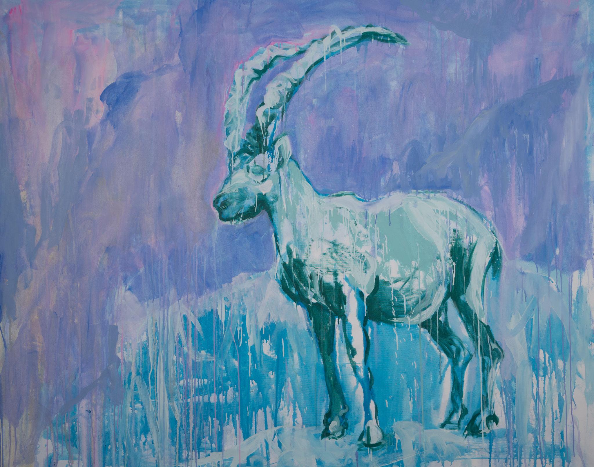 """Bock"" 160 x 200 cm - Acryl auf Leinwand"