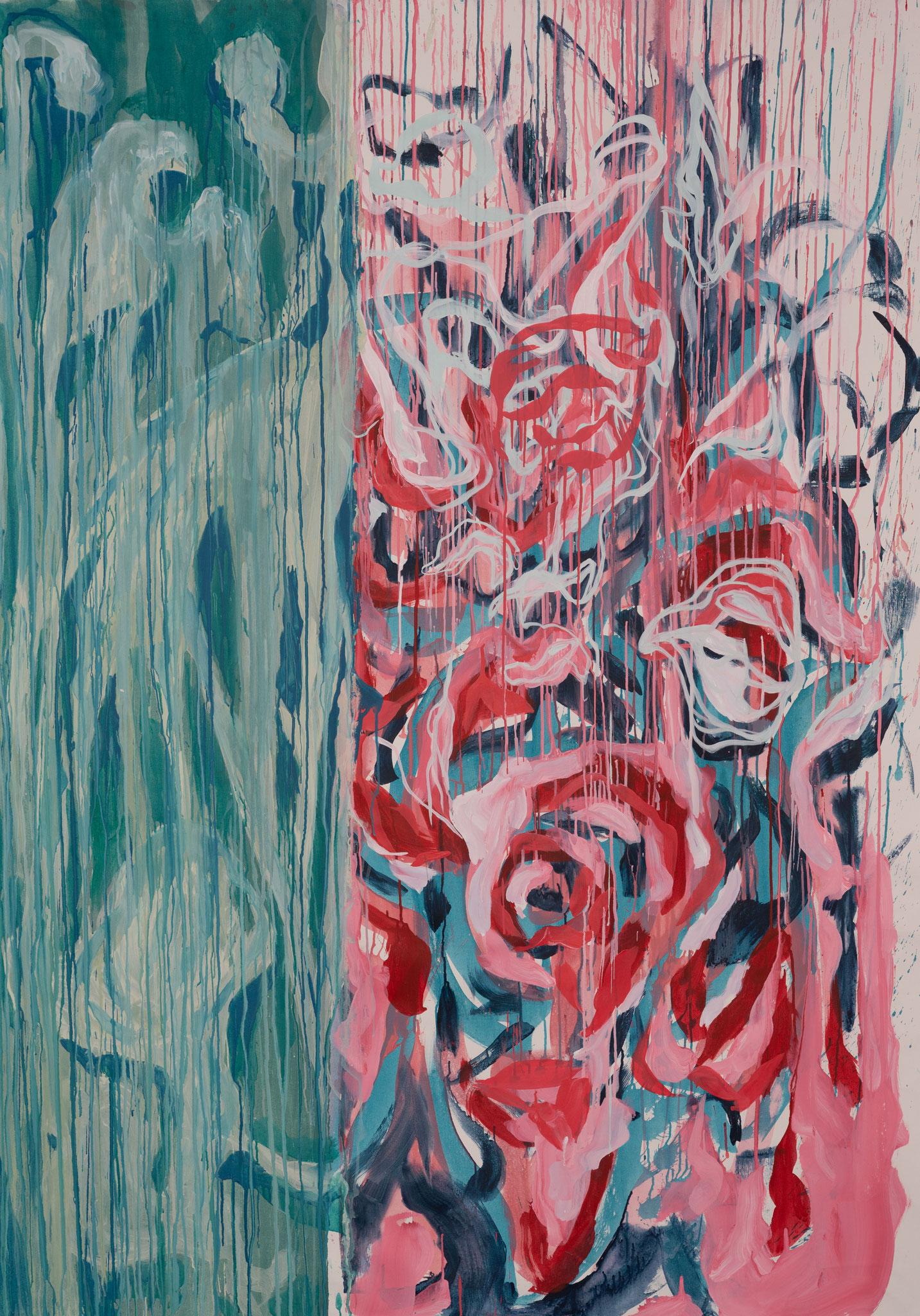 """Break"" 200 x 150 cm - Acryl auf Leinwand"