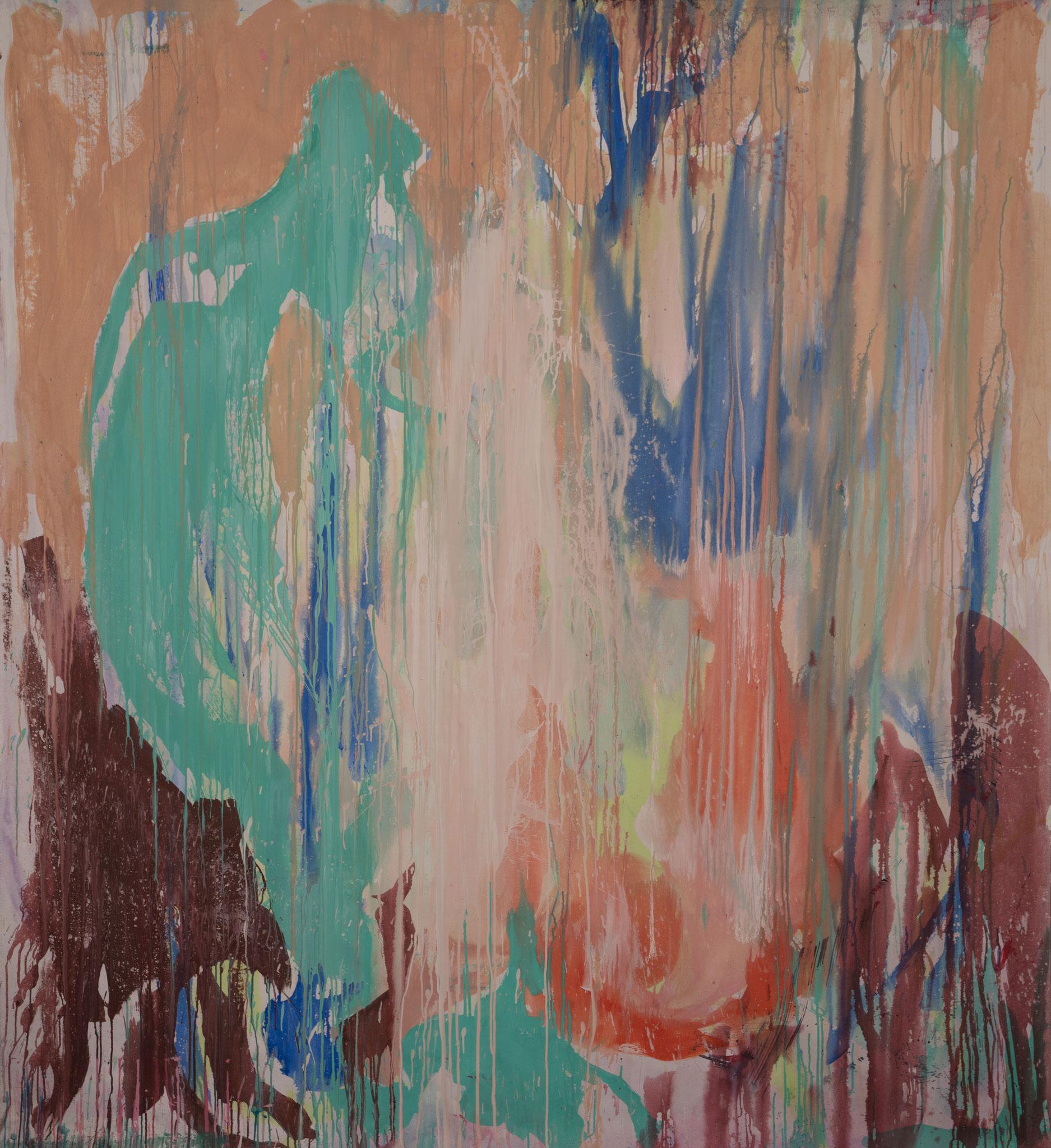 """Forest Dream"" 220 x 200 cm - Acryl auf Leinwand"
