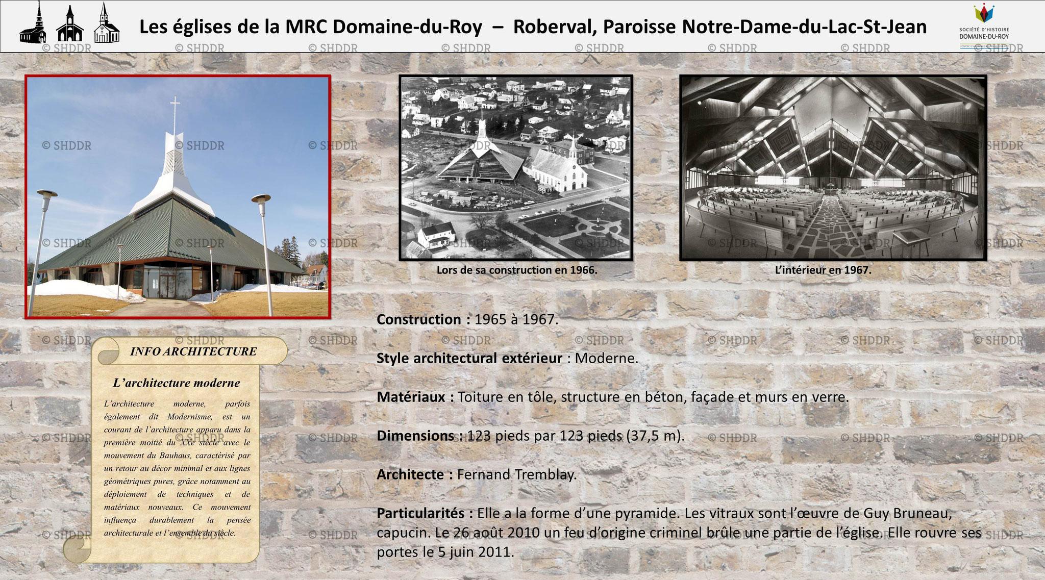 Roberval - Paroisse Notre-Dame-du-Lac-St-Jean