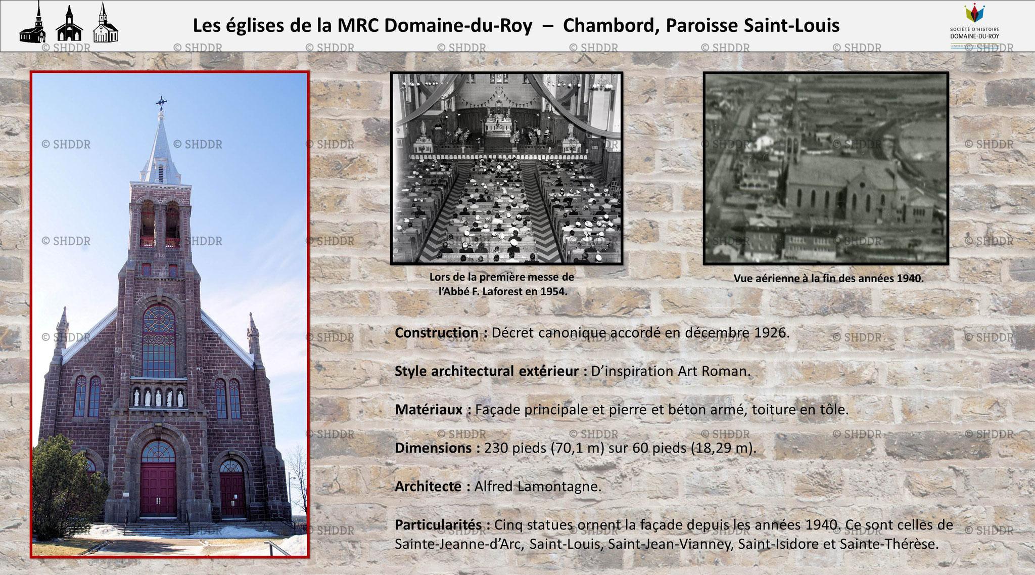 Chambord - Paroisse Saint-Louis