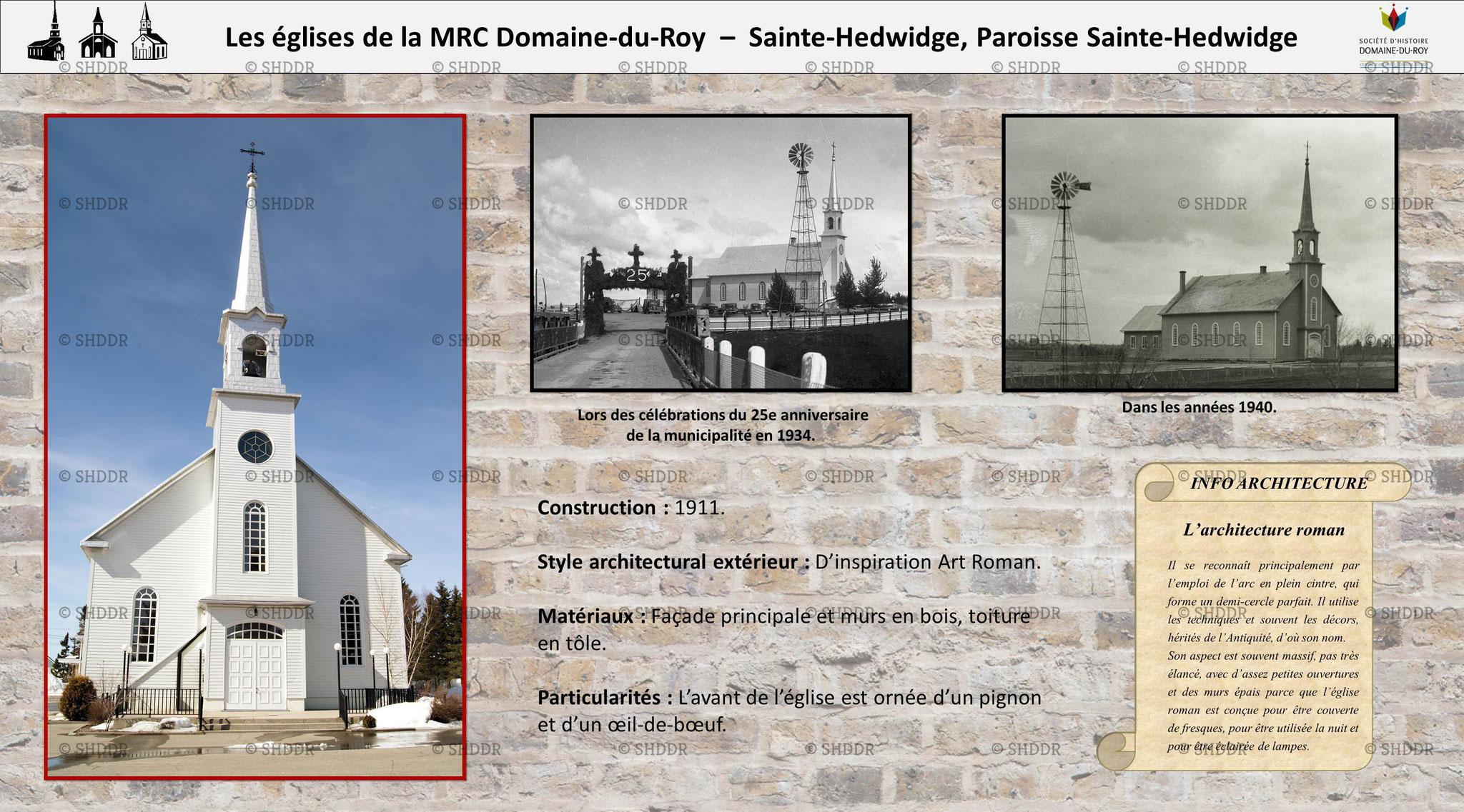 Sainte-Hedwidge - Paroisse Sainte-Hedwidge