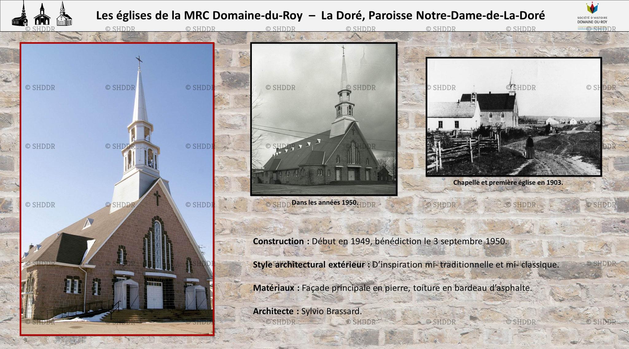 La Doré - Paroisse Notre-Dame-de-La-Doré