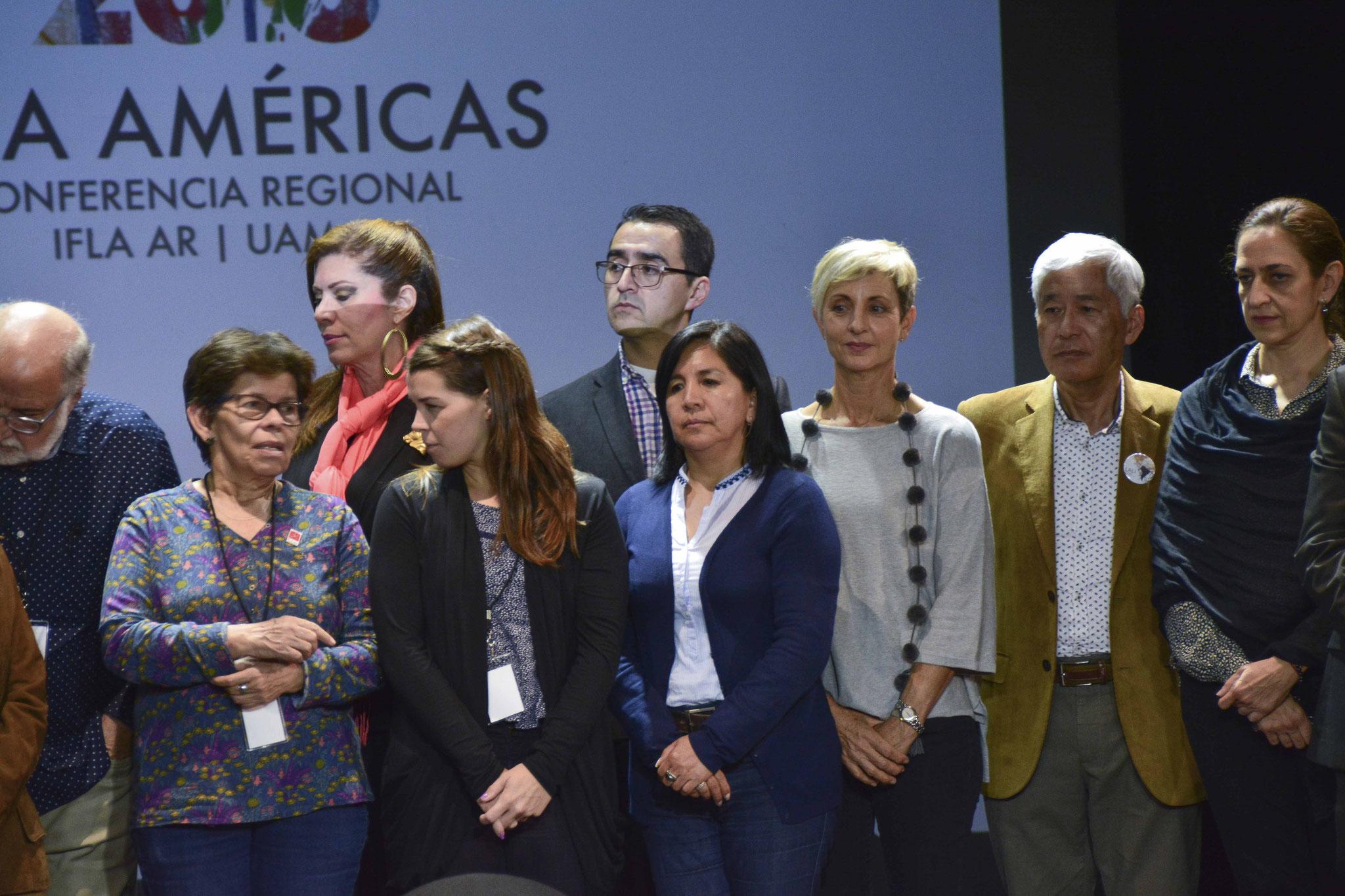 Firma de la Carta del Paisaje de las Américas