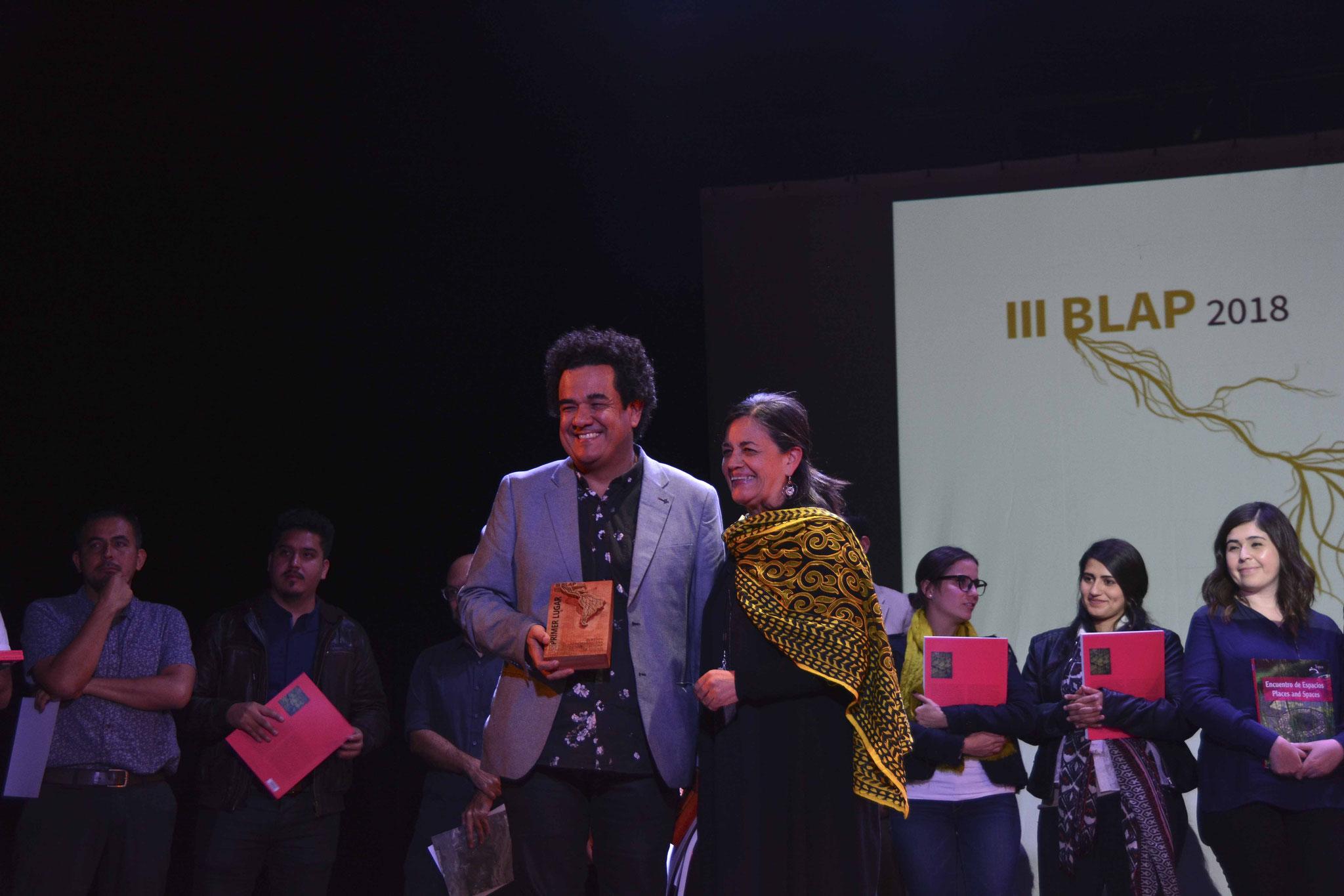 Premiación III BLAP / Ganador III BLAP