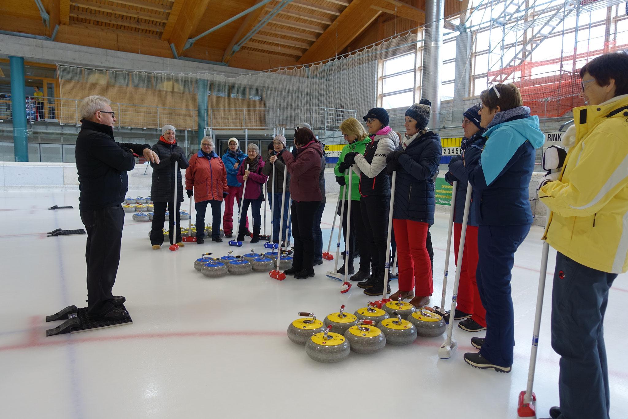 Curling Spielen...