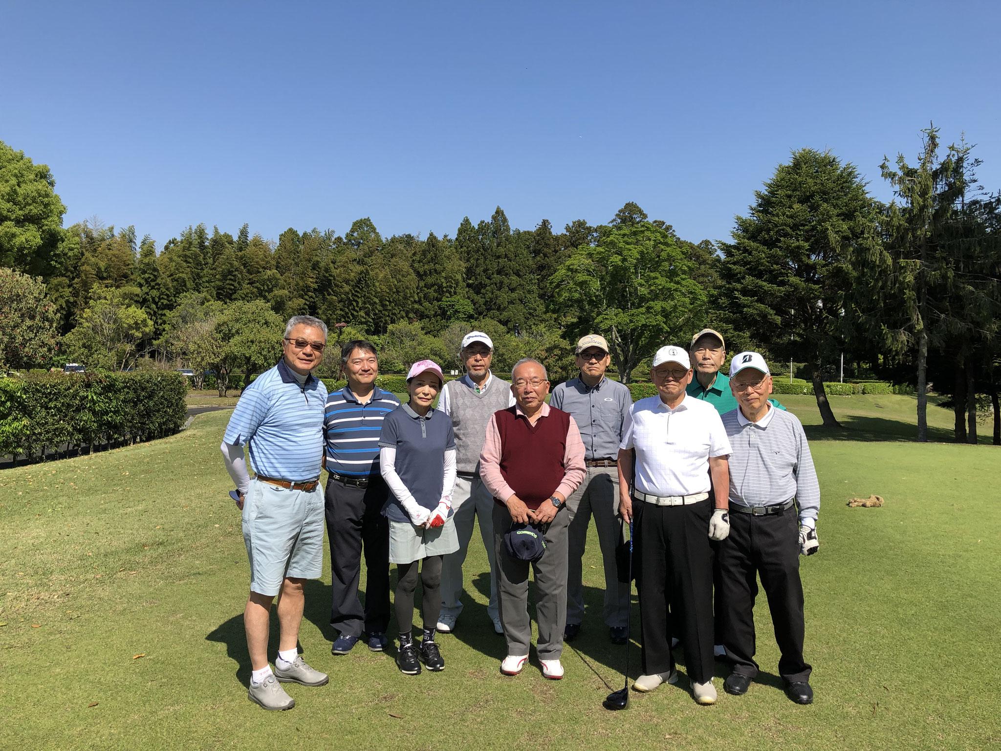 2019春のゴルフ会