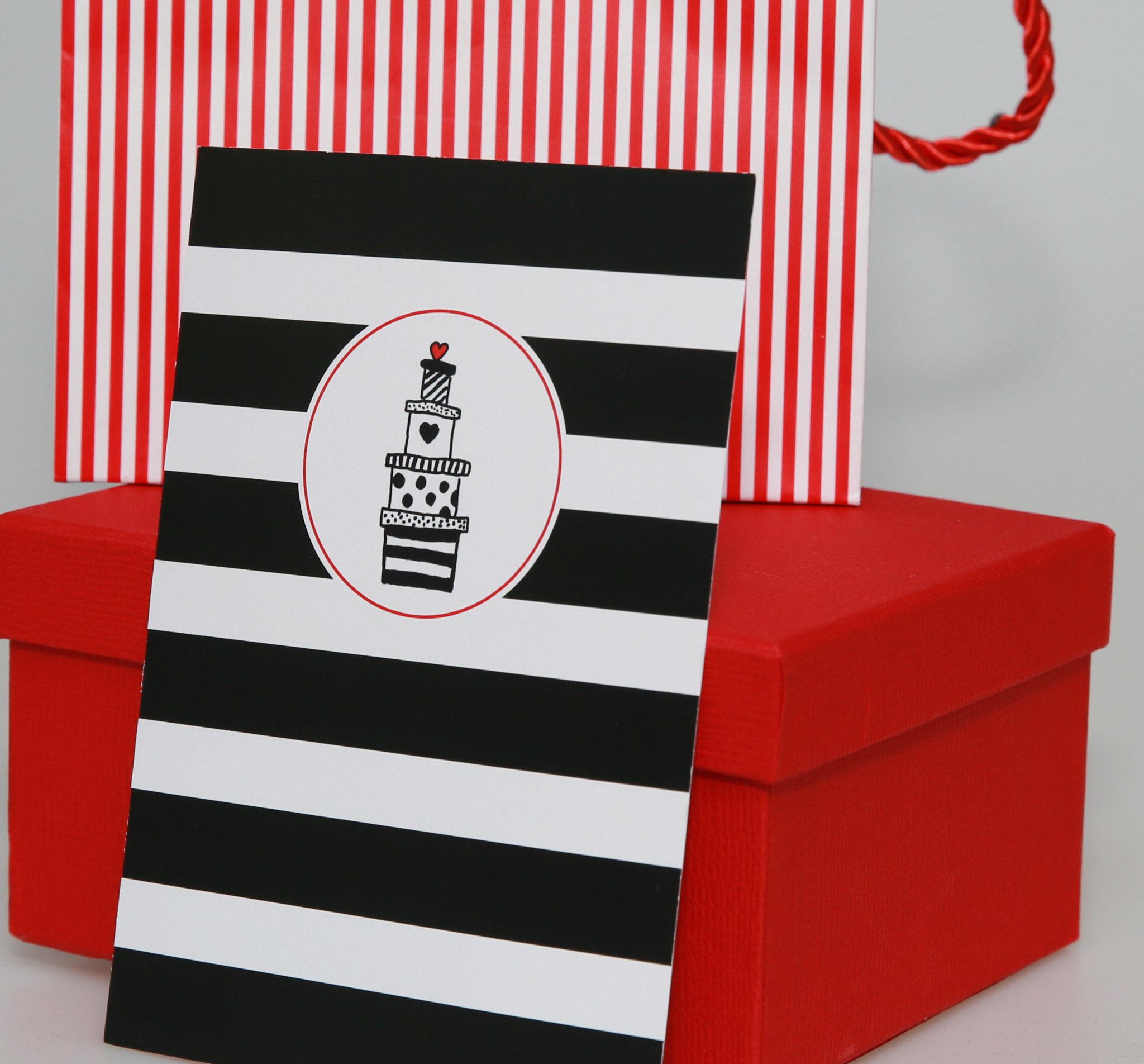 "Postkarte ""Geschenke"""