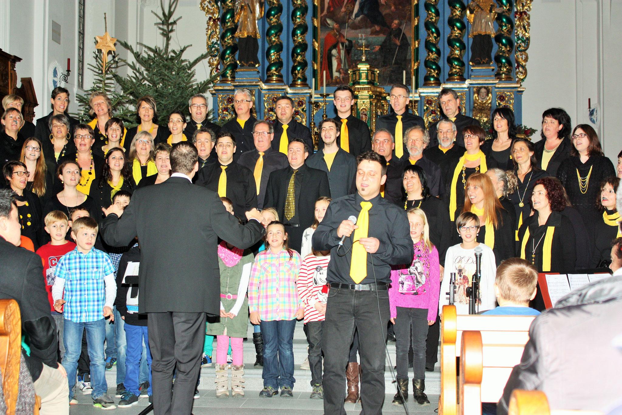 2014 JRZ-Konzerte mit Kinderchor Attighausen