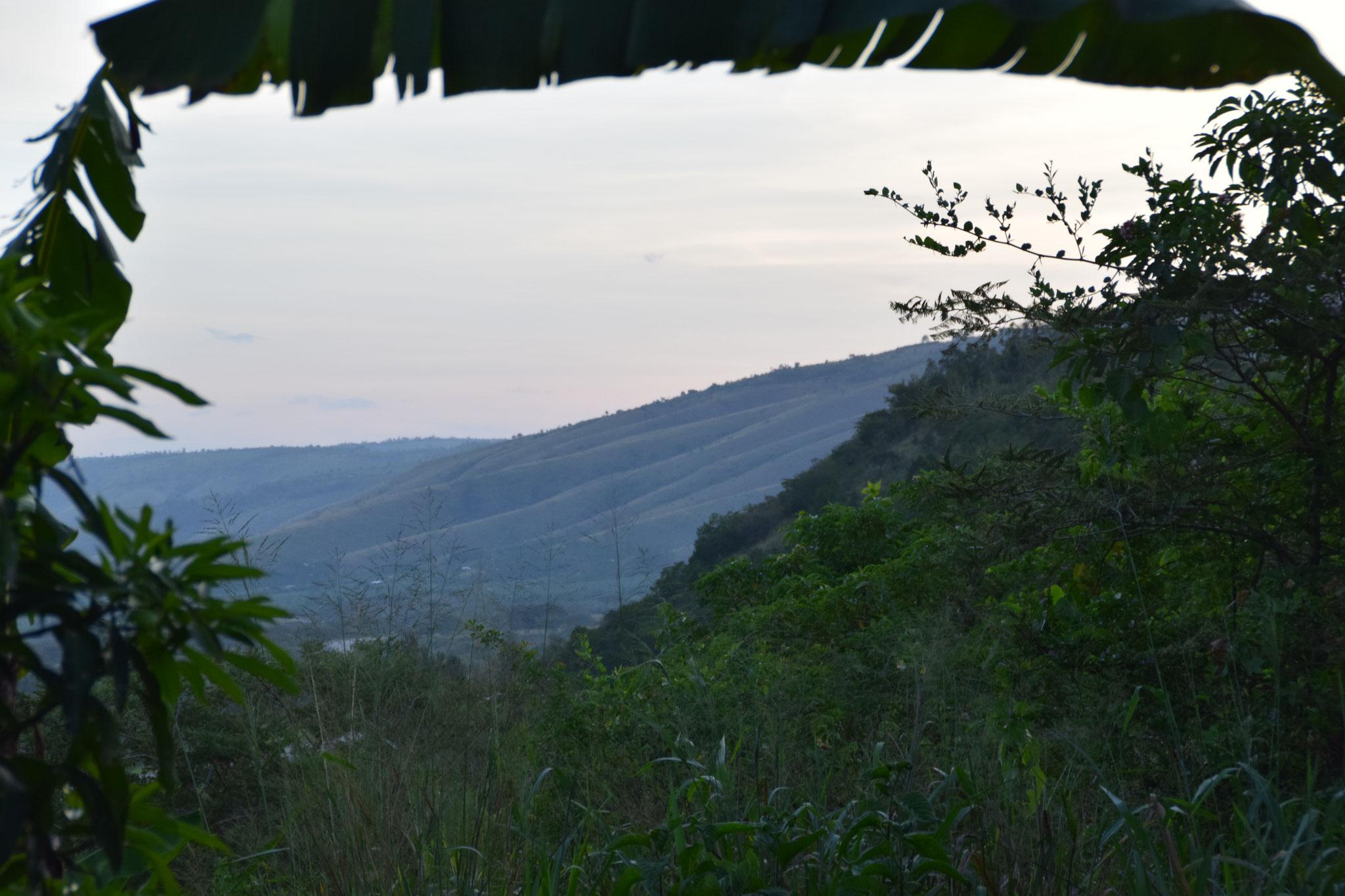 Ausblick in Isingiro