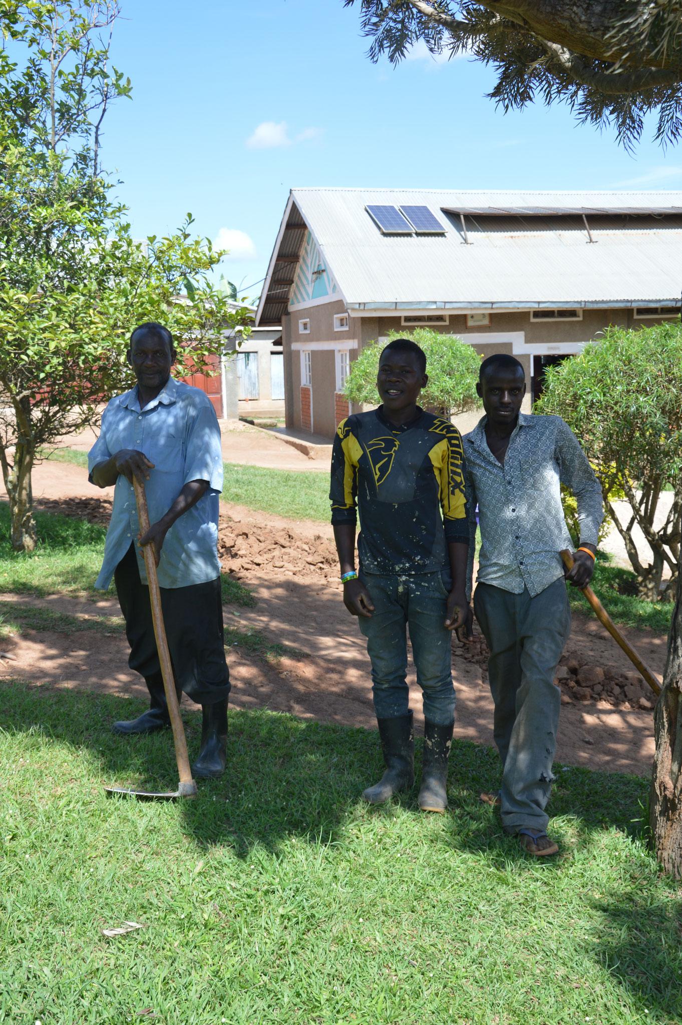 Die 3 Bauarbeiter
