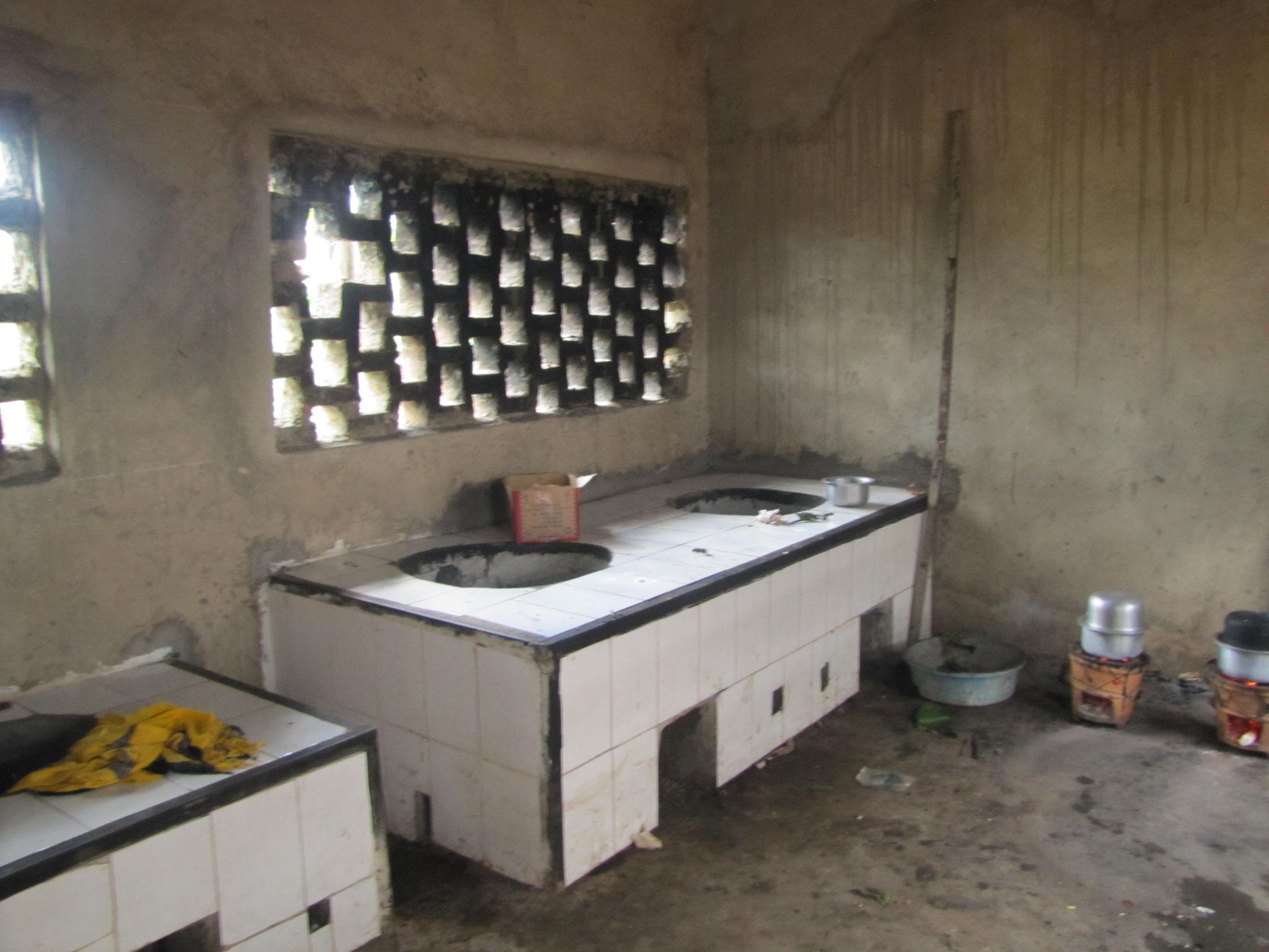 neue Küche kurz vor der Fertigstellung
