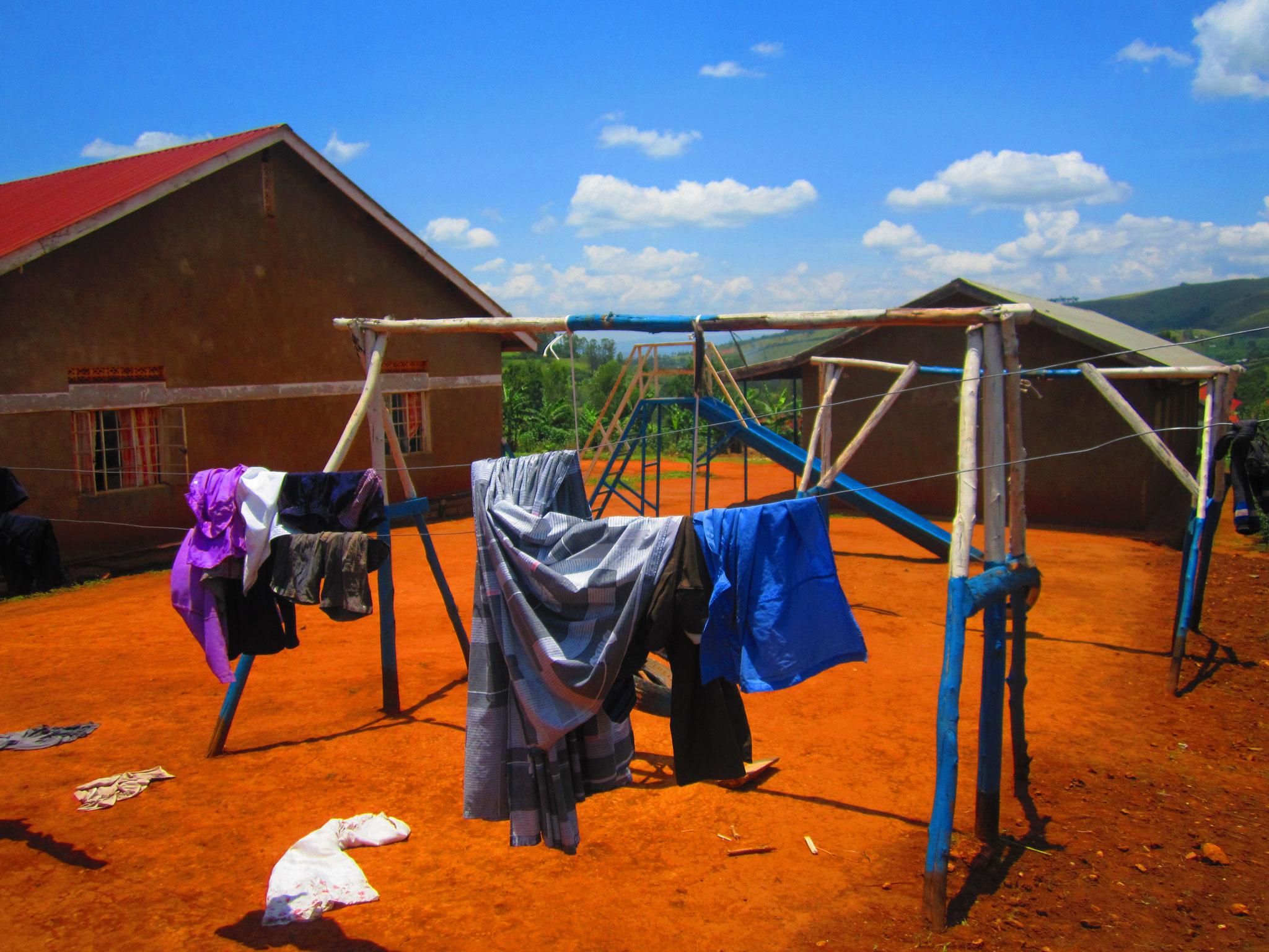 Spielplatz - Wäscheständer