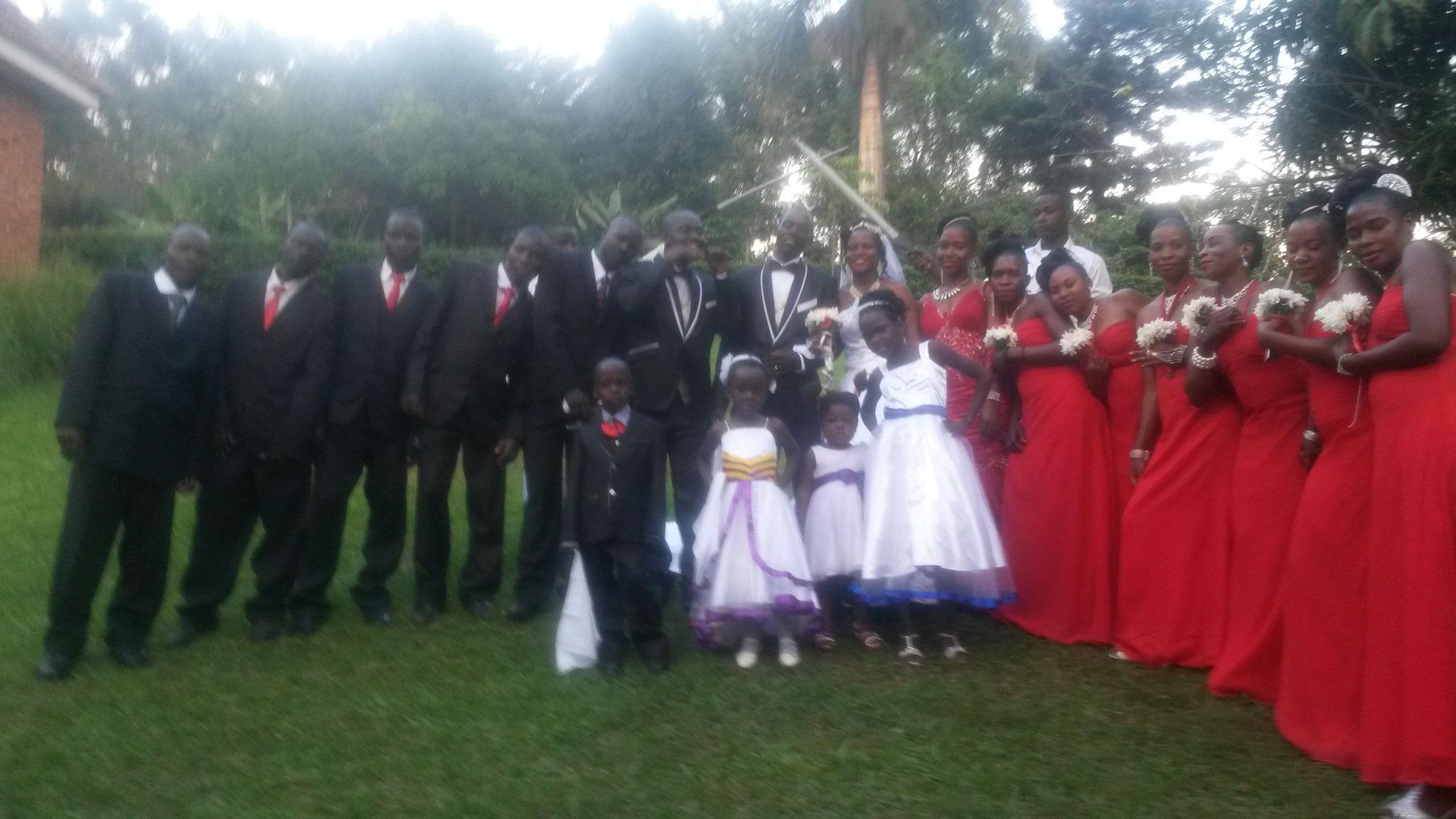 Hochzeit von Cosma und Prossy