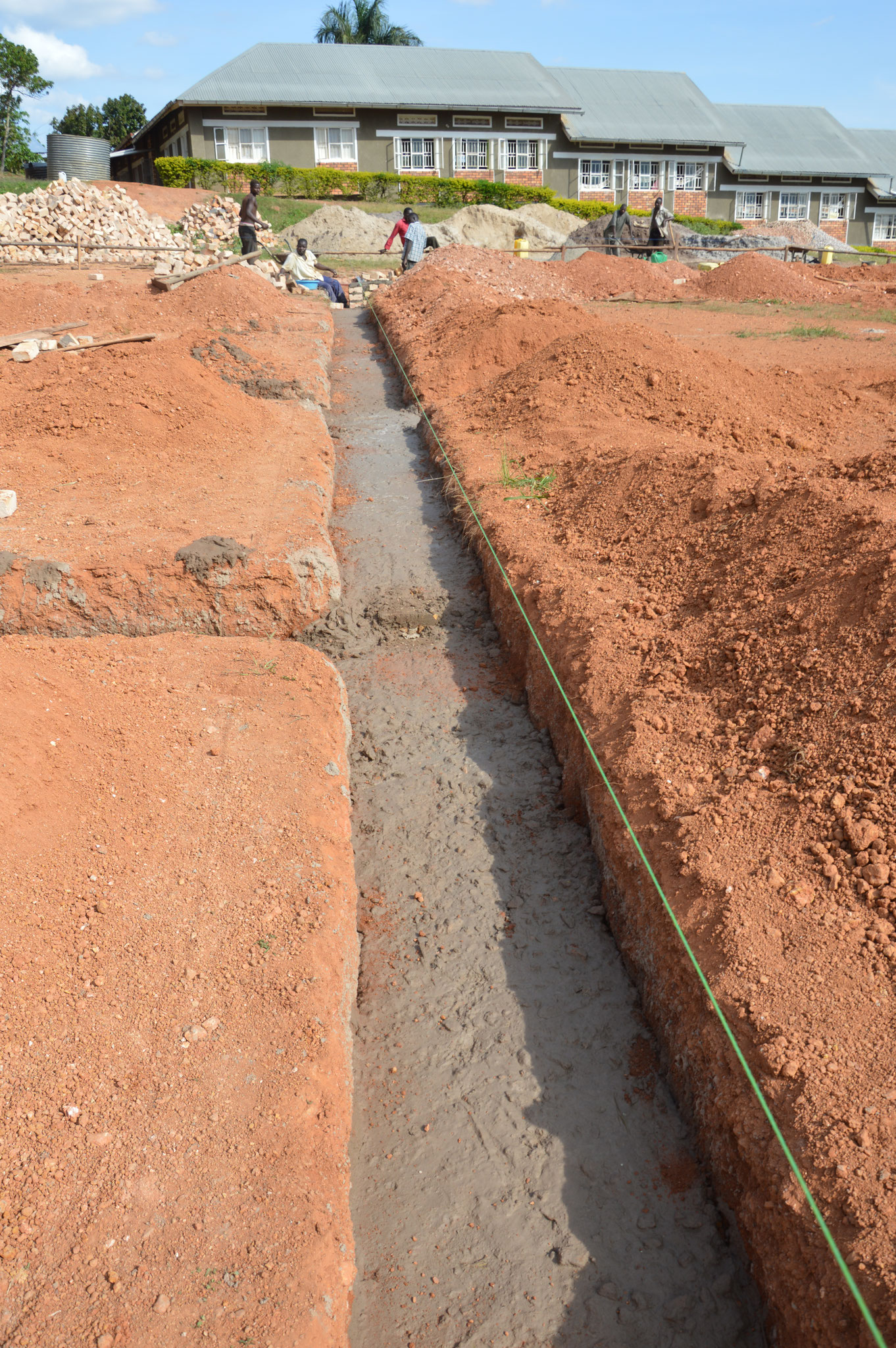 Tag 3 - Grundmauern