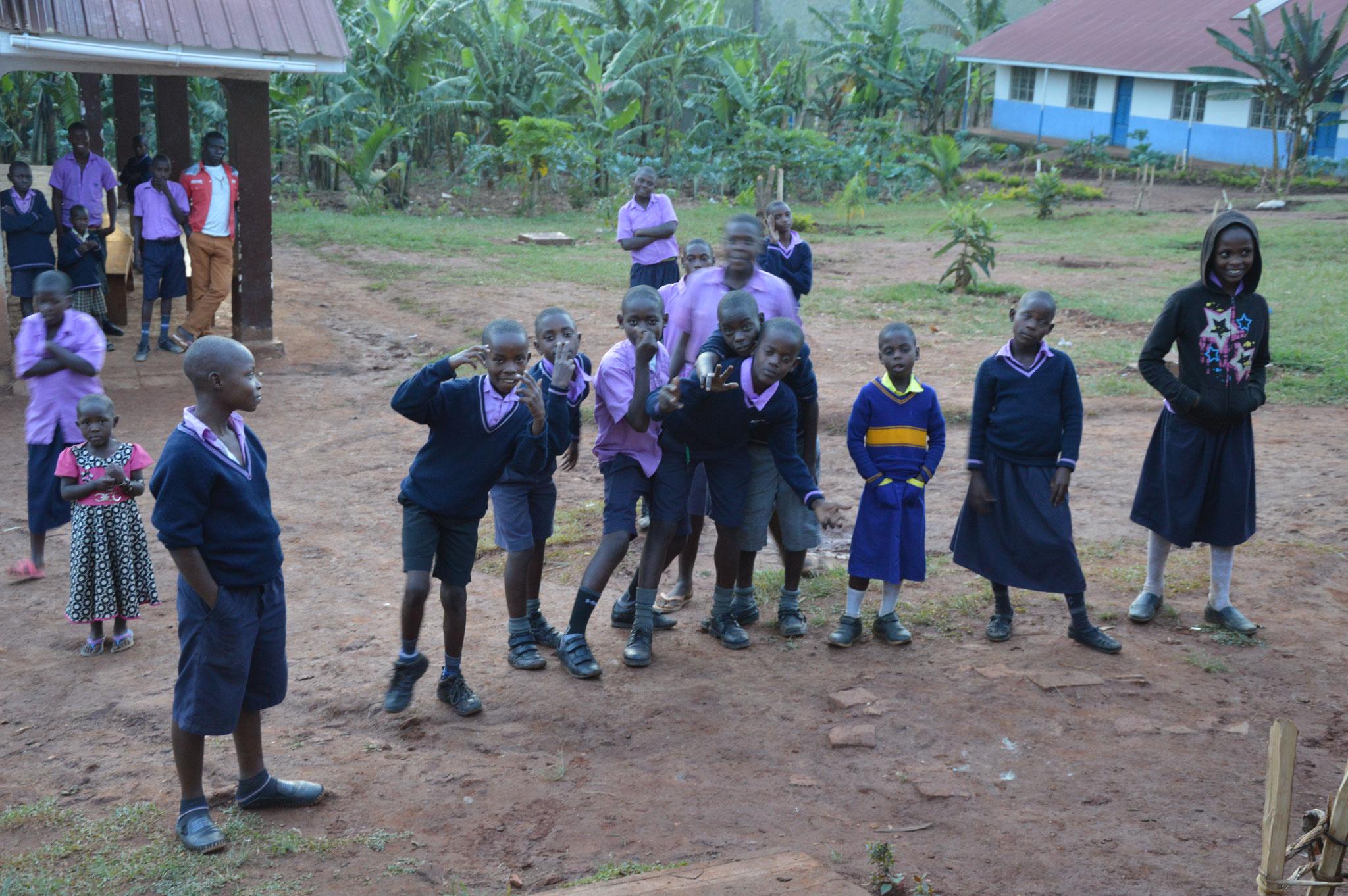 Kinder in Ntungamo