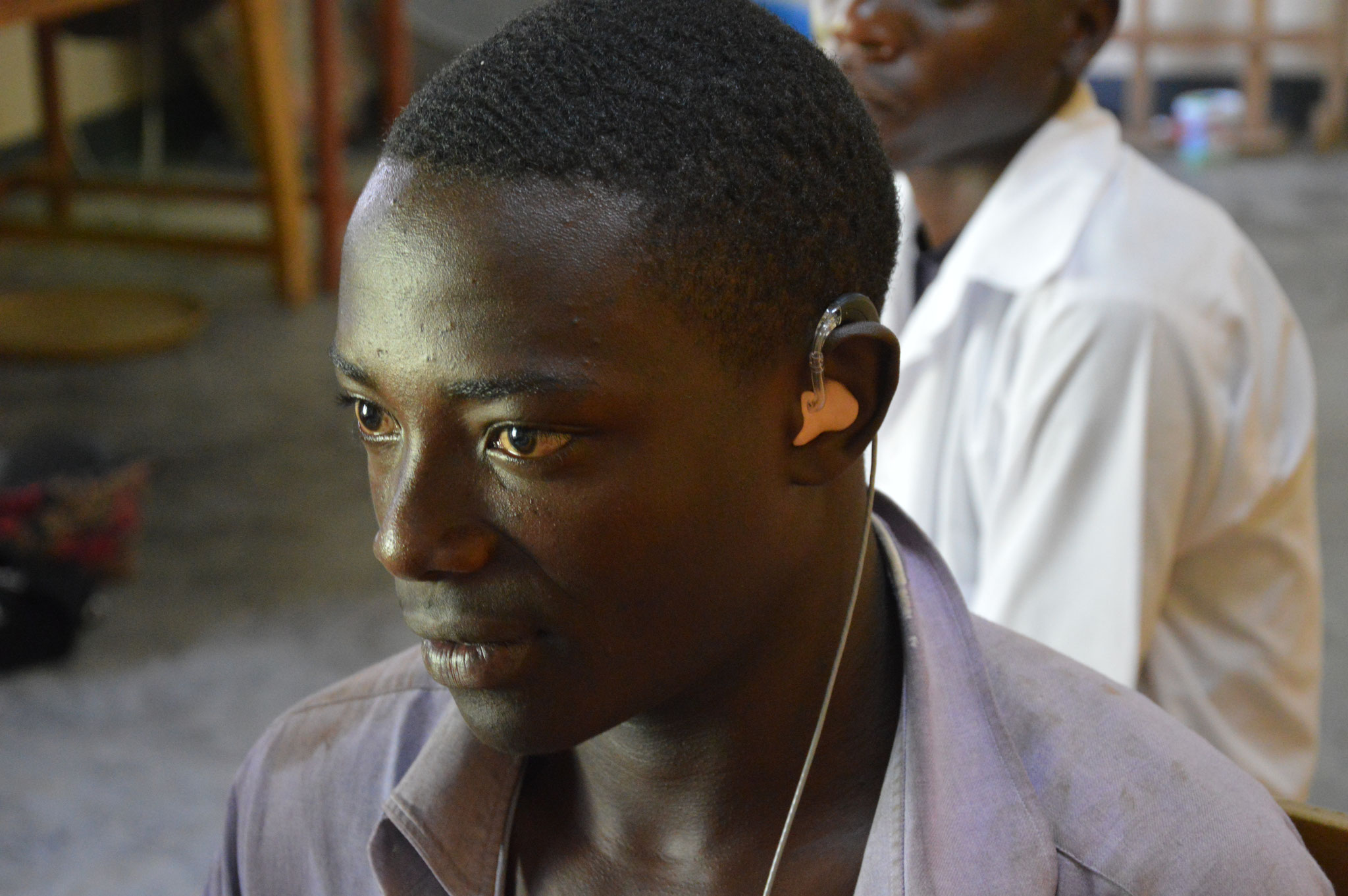 Anpassung der Hörgeräte