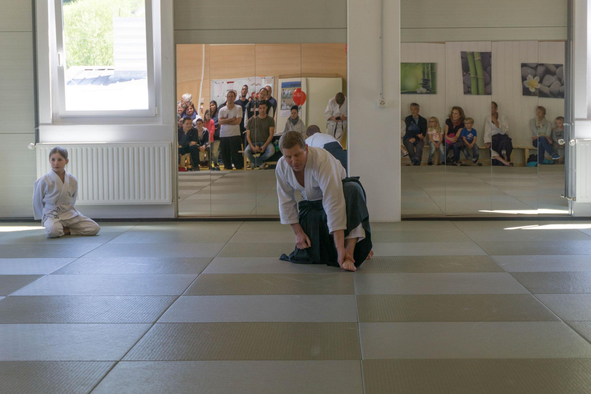 Aikido für die kleinen zum Schnuppern