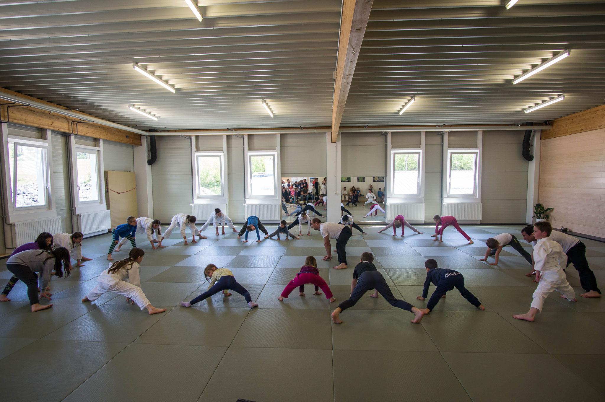 Freies Kindertraining in Karate und KungFu