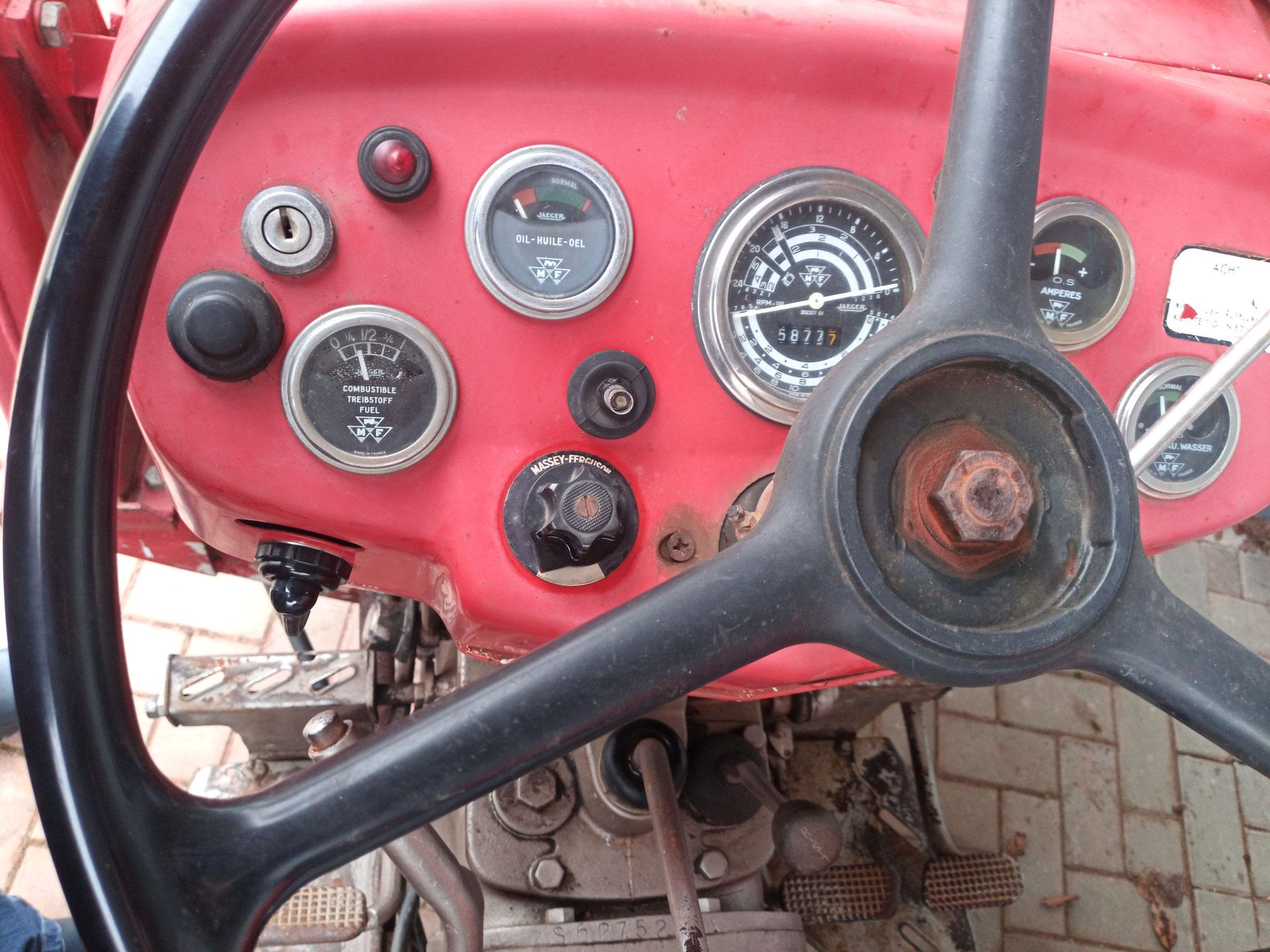 Traktormeter defekt, wie kann man dann eine B-std.-Zahl angeben