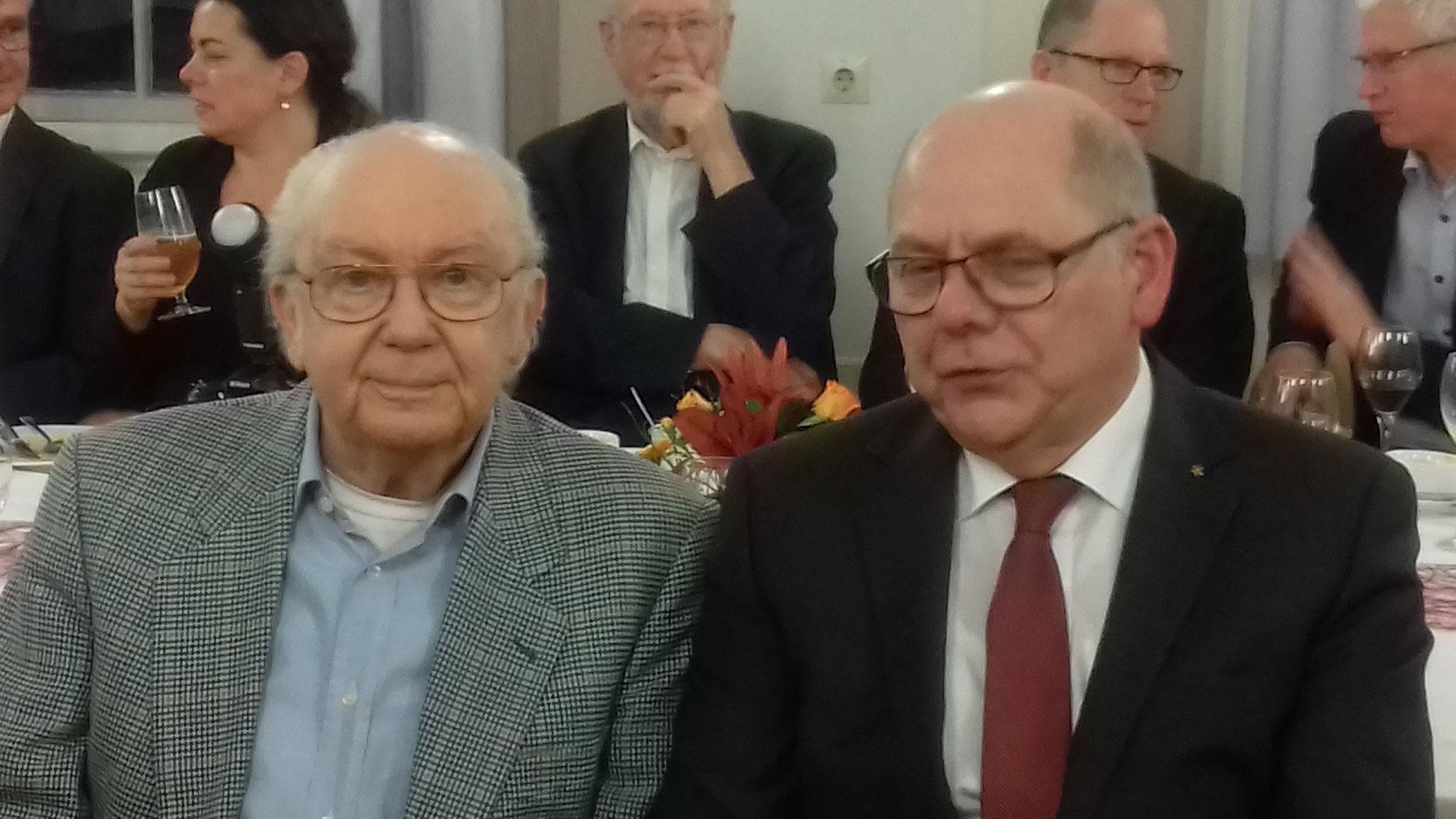 Mit Prof. Dr. Manuel Fratz bei seiner Verabschiedung aus der Beuth Hochschule – Berlin 2018