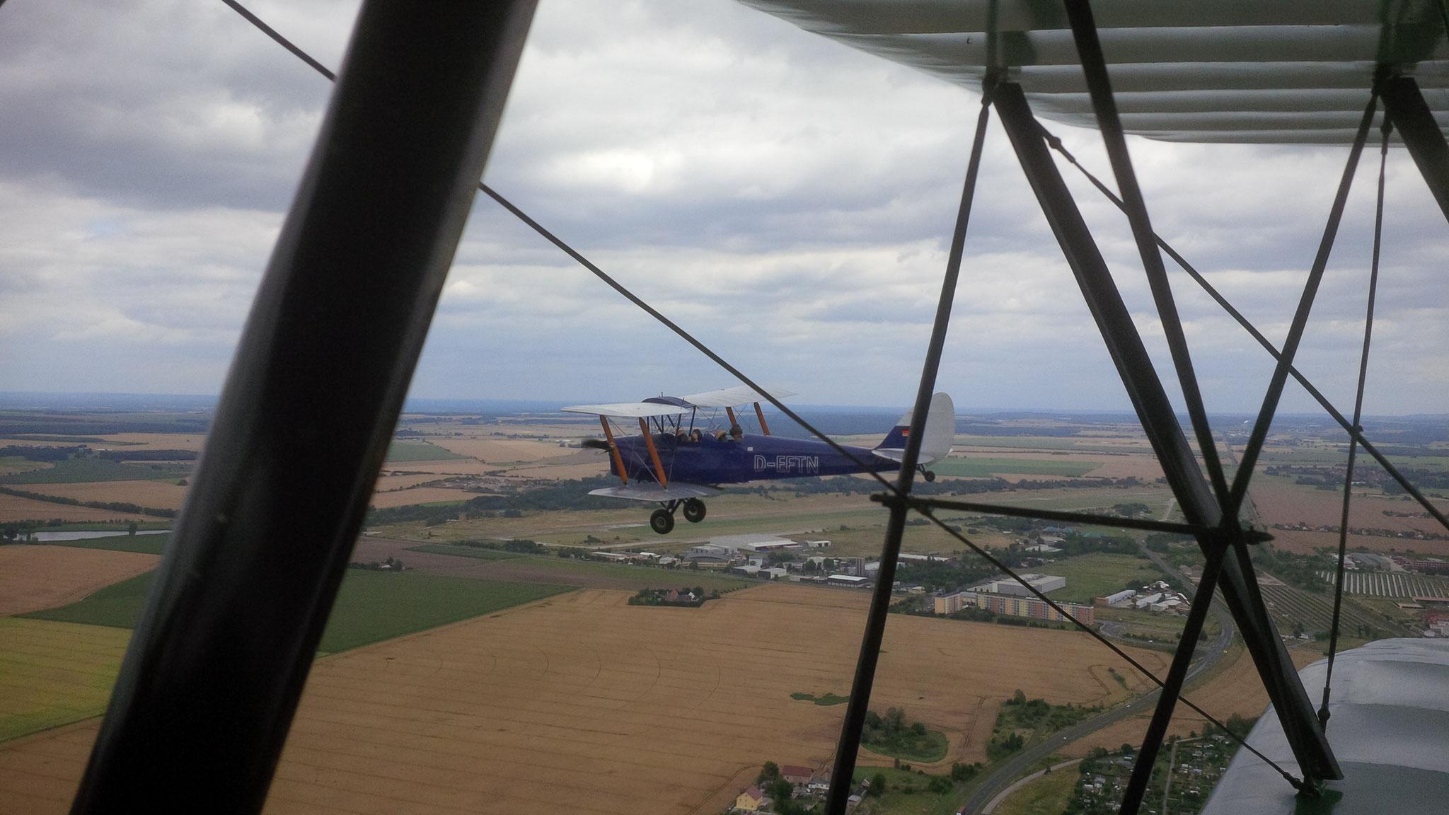 Prise de vue en vol