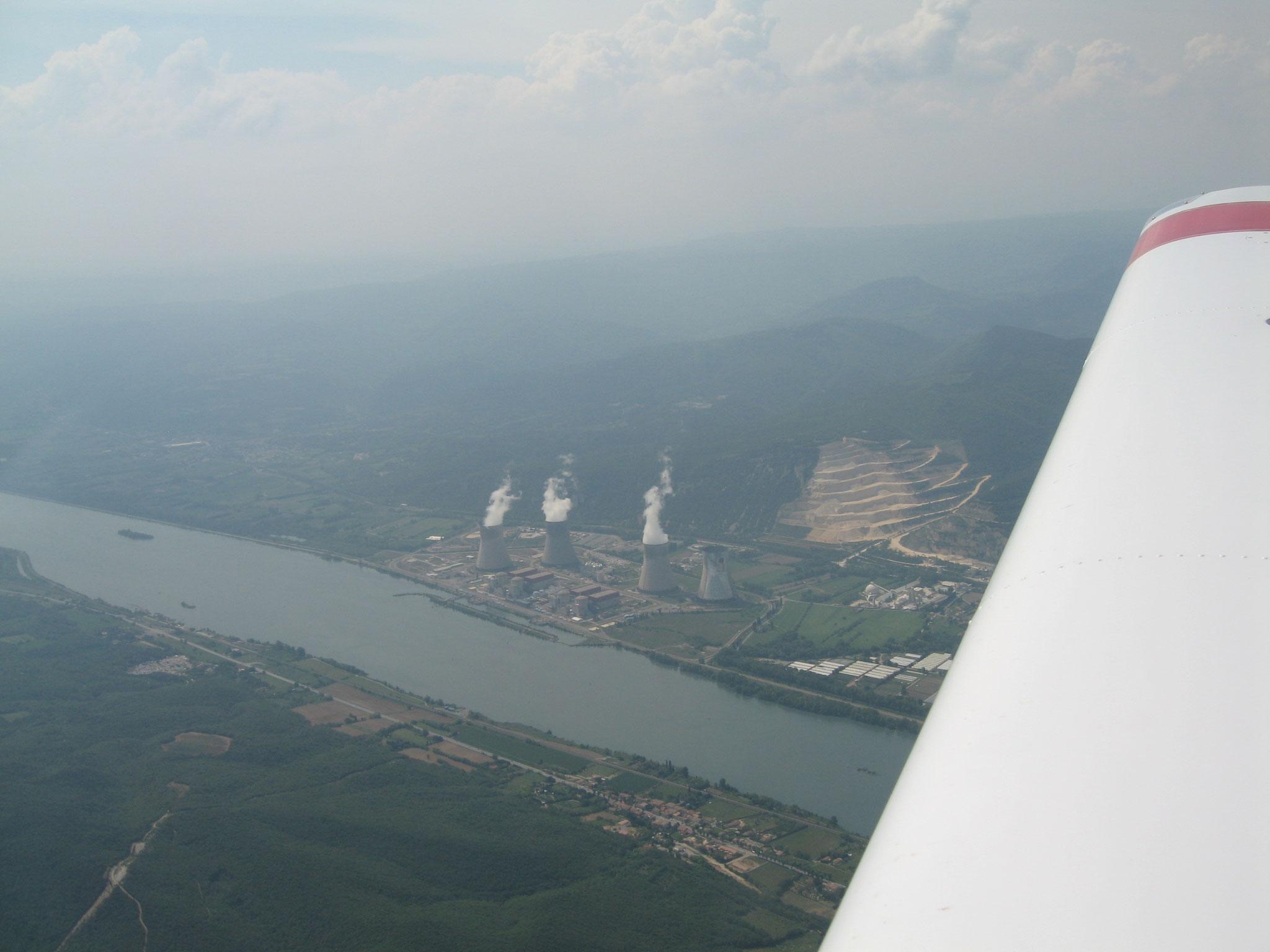 La centrale nucléaire de Cruas
