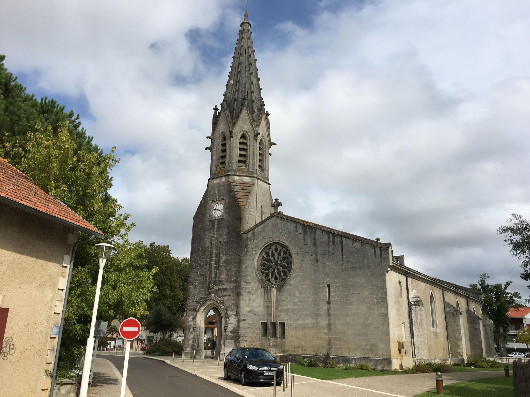 L'église de Biscarosse