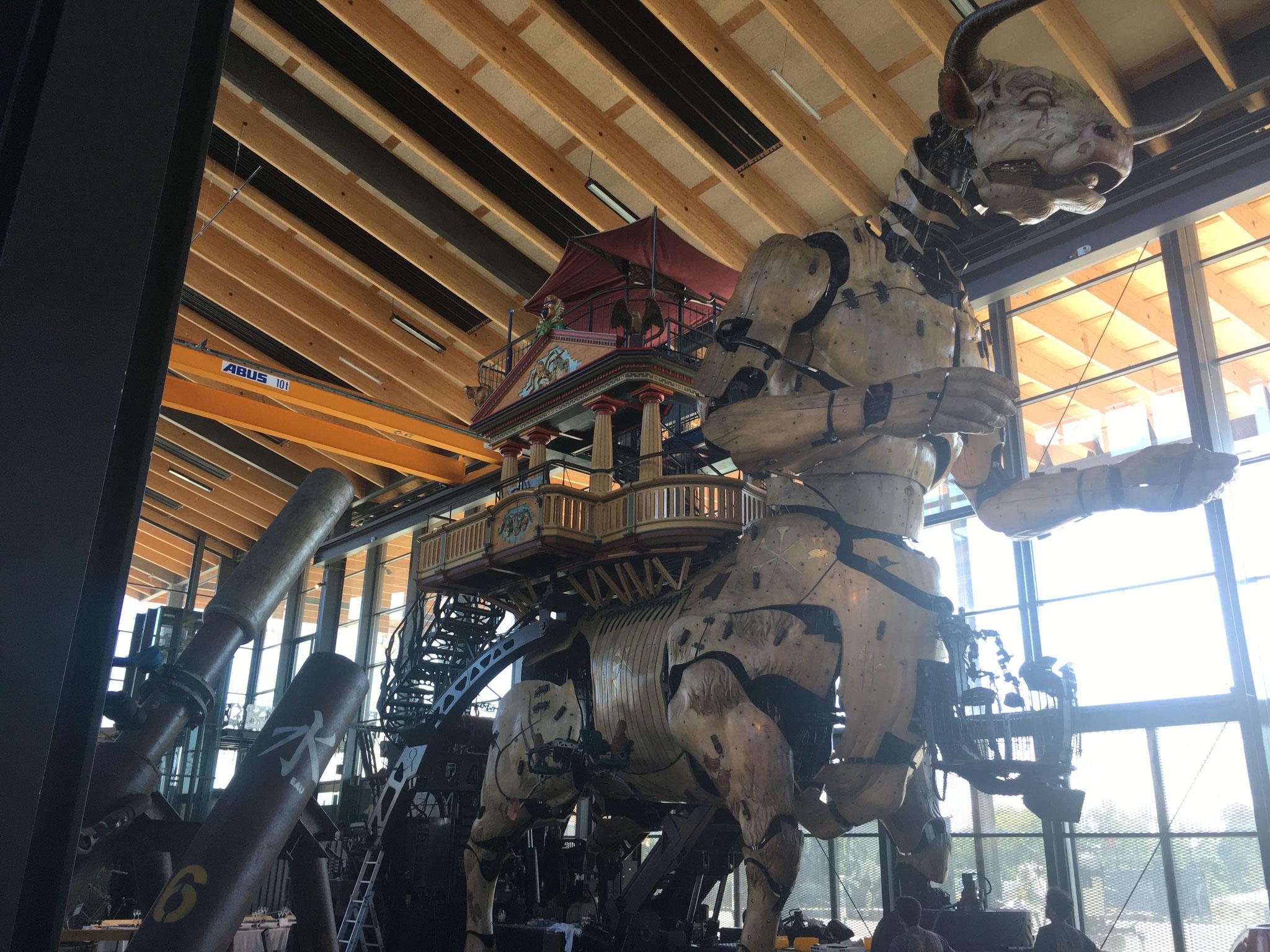 """Un des monstres de """"La Halle de la Machine"""""""