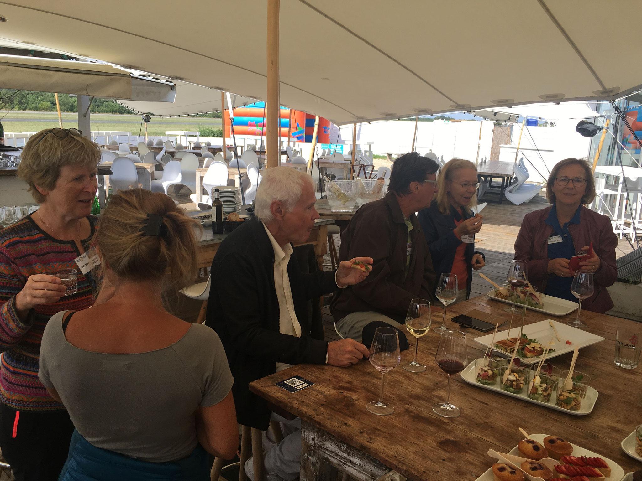 Lunch au terrain de Toulouse Lasbordes