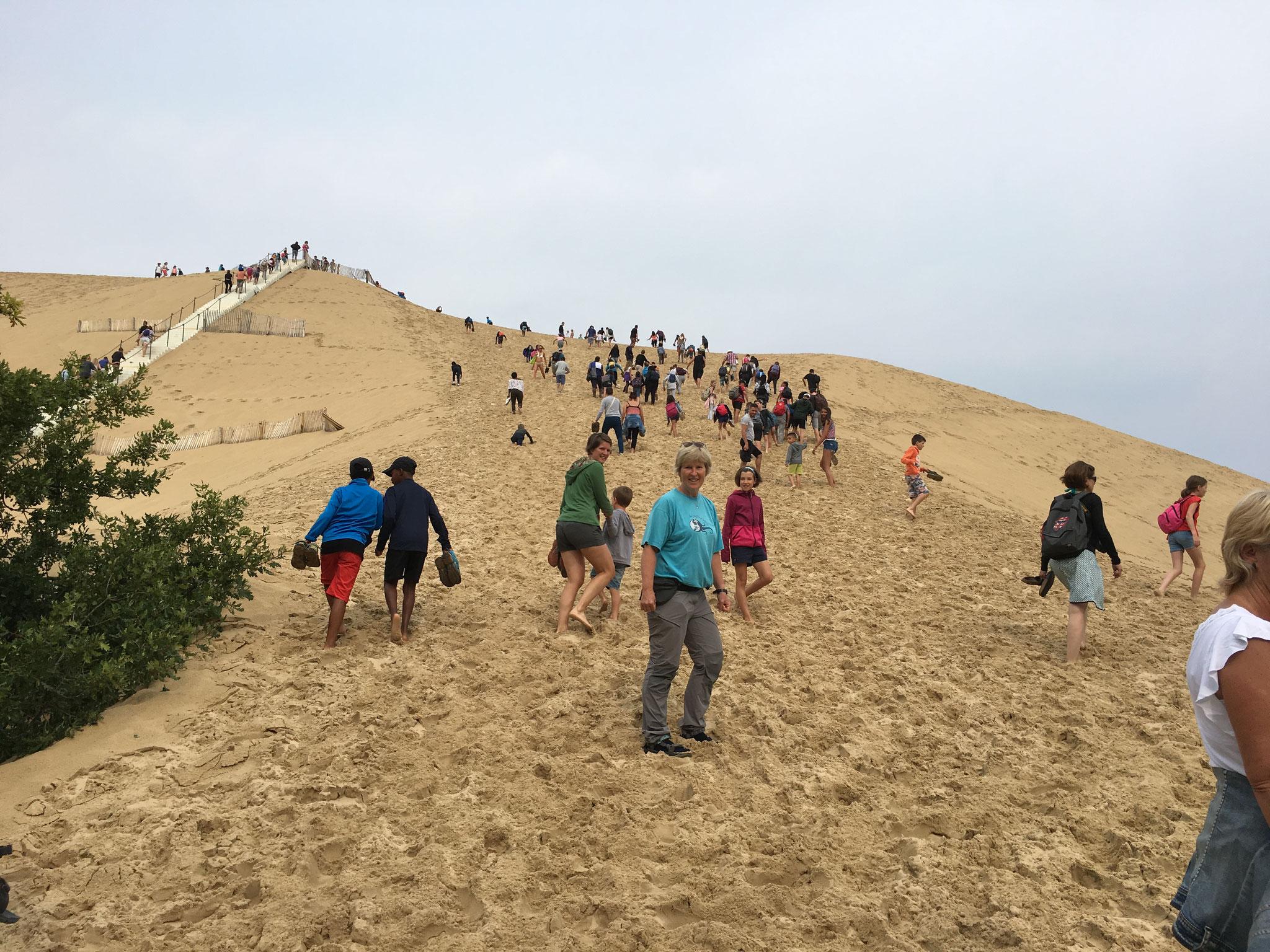 A l'assaut de la dune du Pilat
