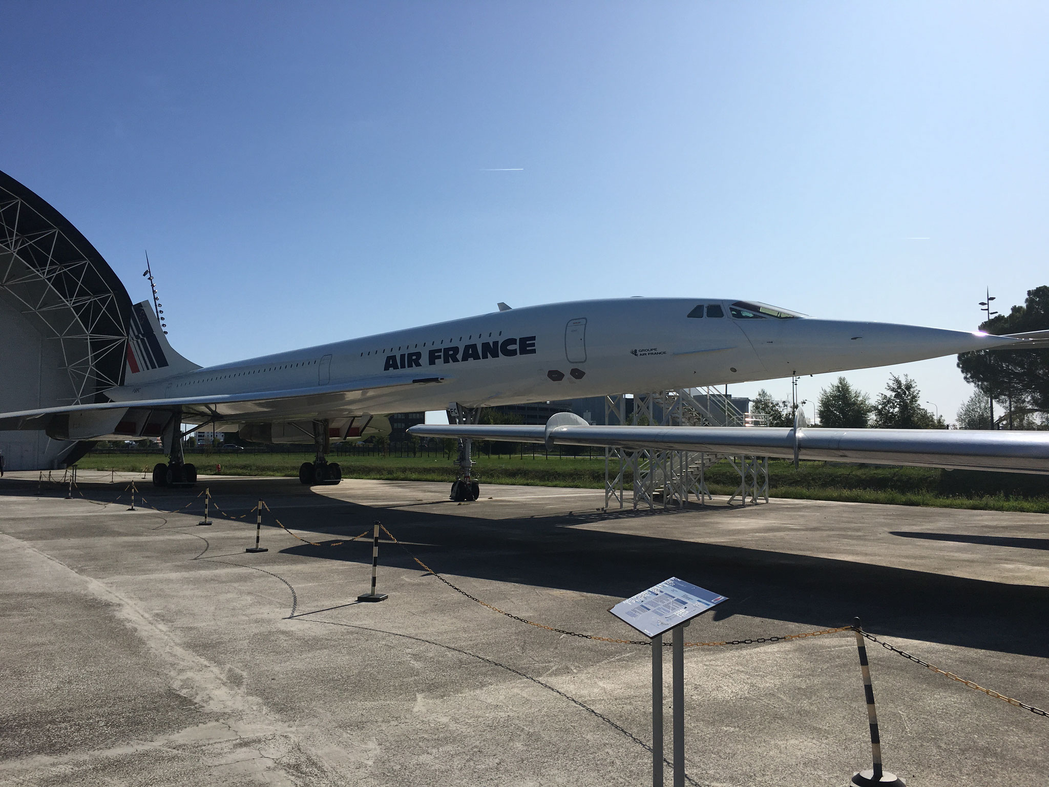 Un Concorde à l'Aéroscopia