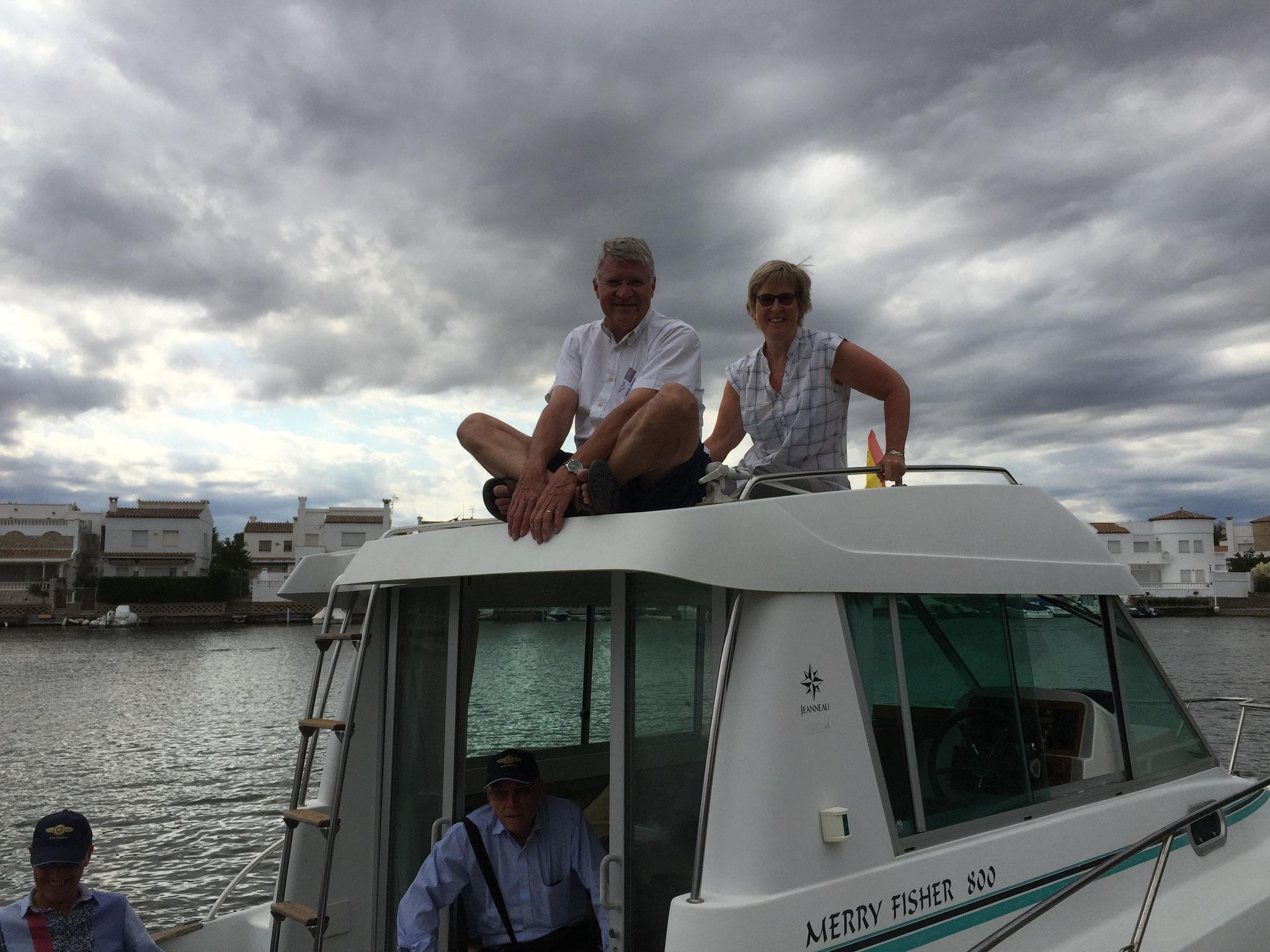 Très agréable tour en bateau dans la marina