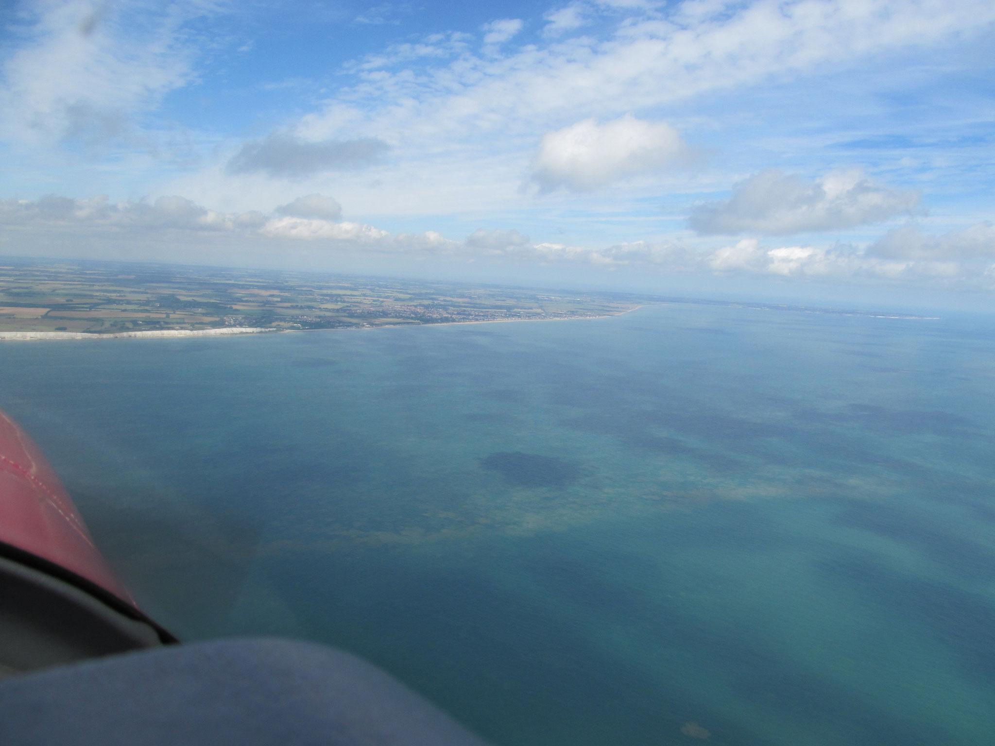 La traversée de la Manche