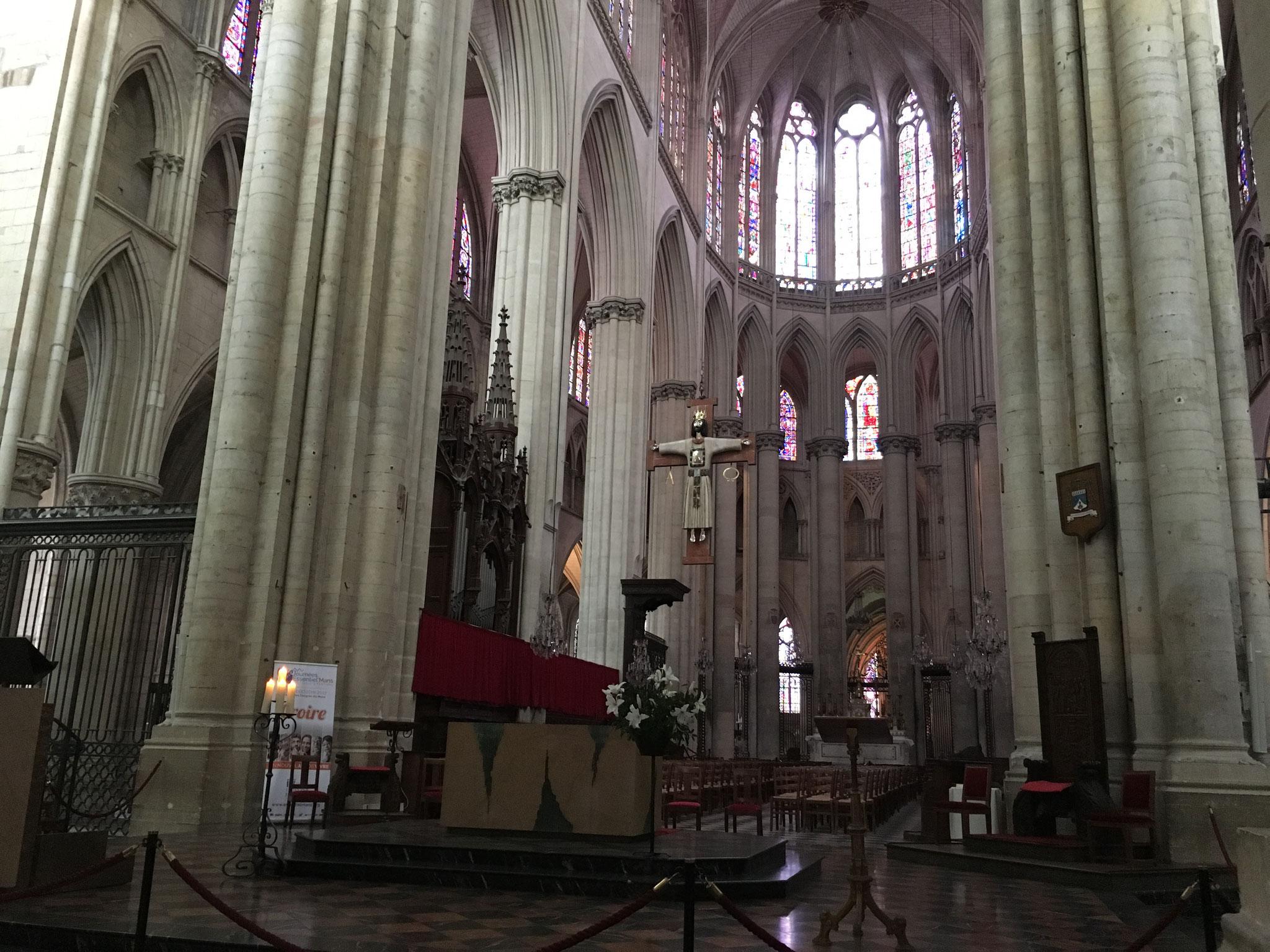 La cathédrale du Mans