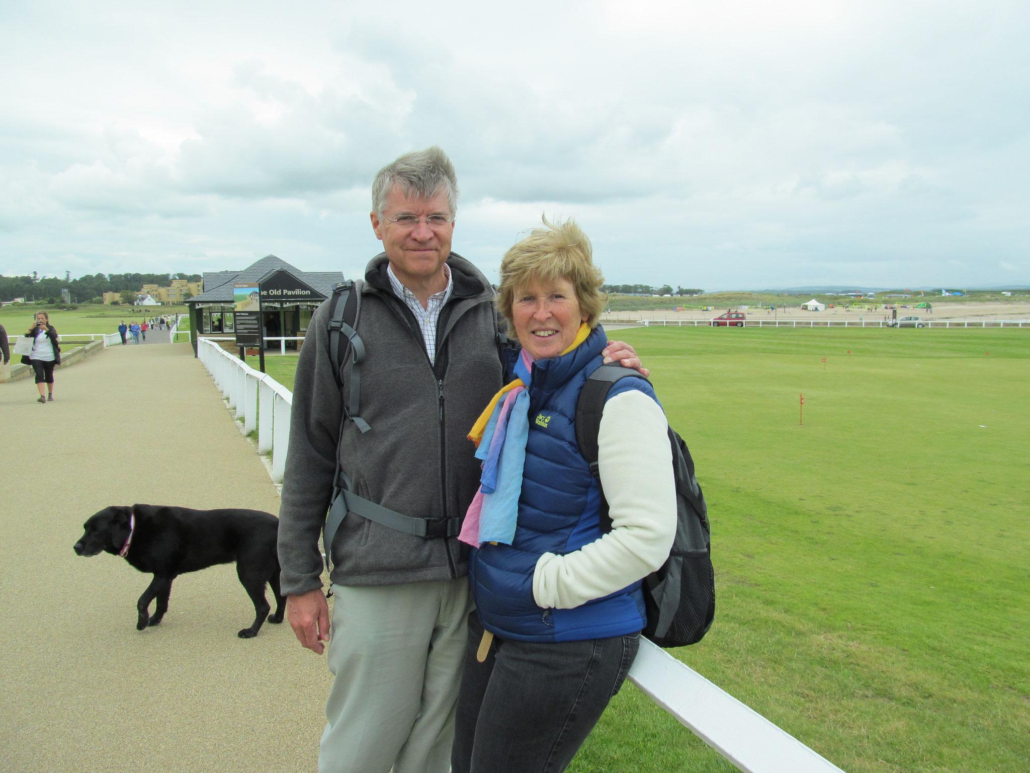 Le golf à St. Andrews