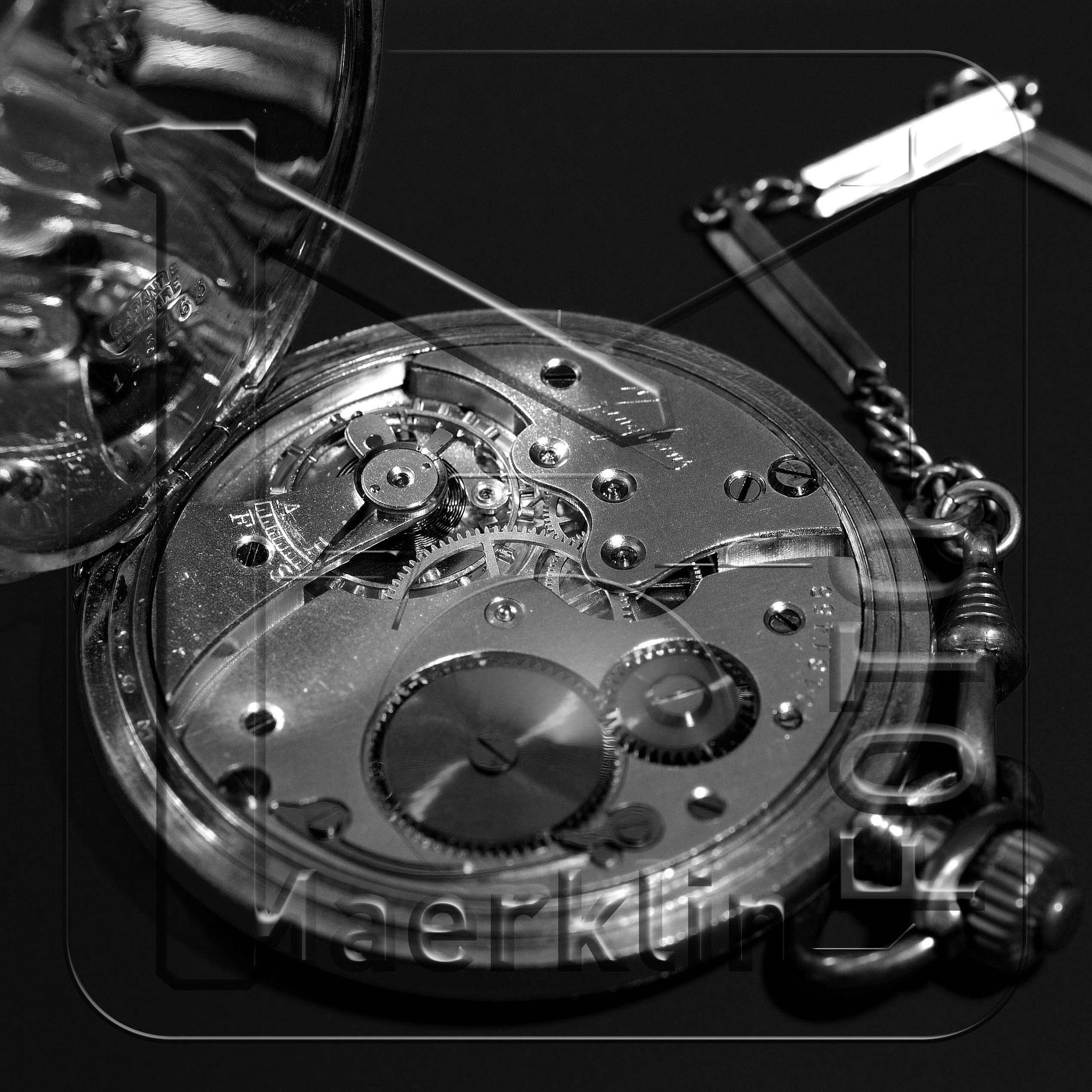 Taschenuhr, Uhrwerk