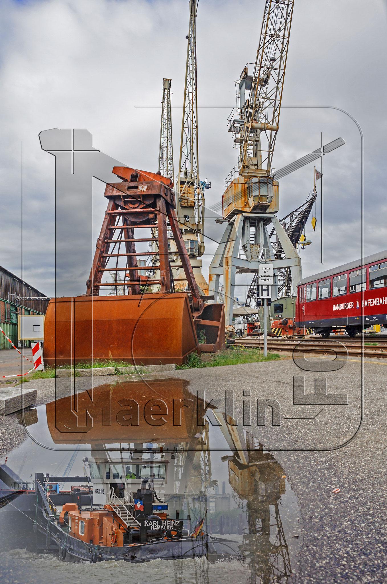Hansestadt Hamburg, Museumshafen, Bildmontage