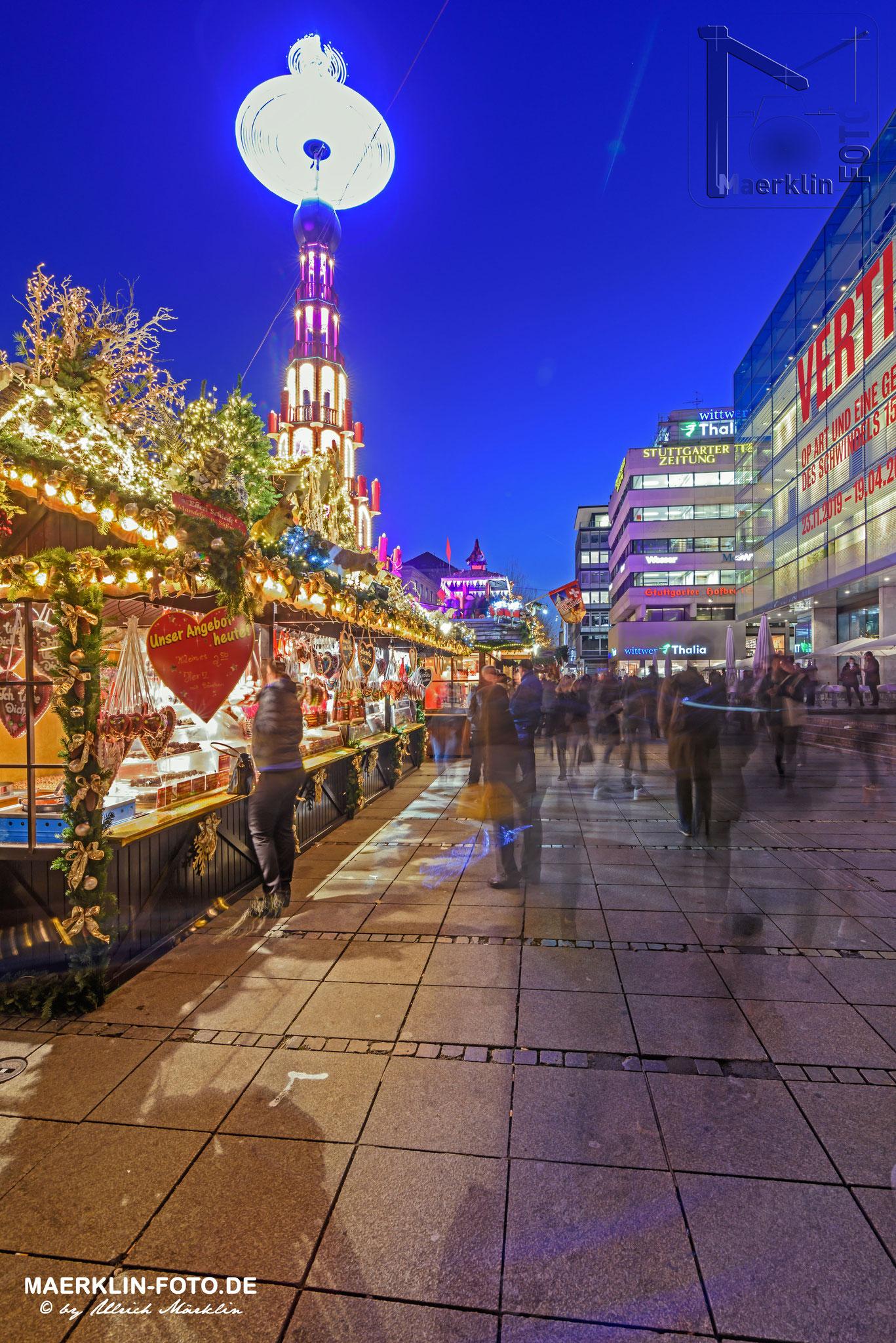 Weihnachtsmarkt in Stuttgart, Königstraße